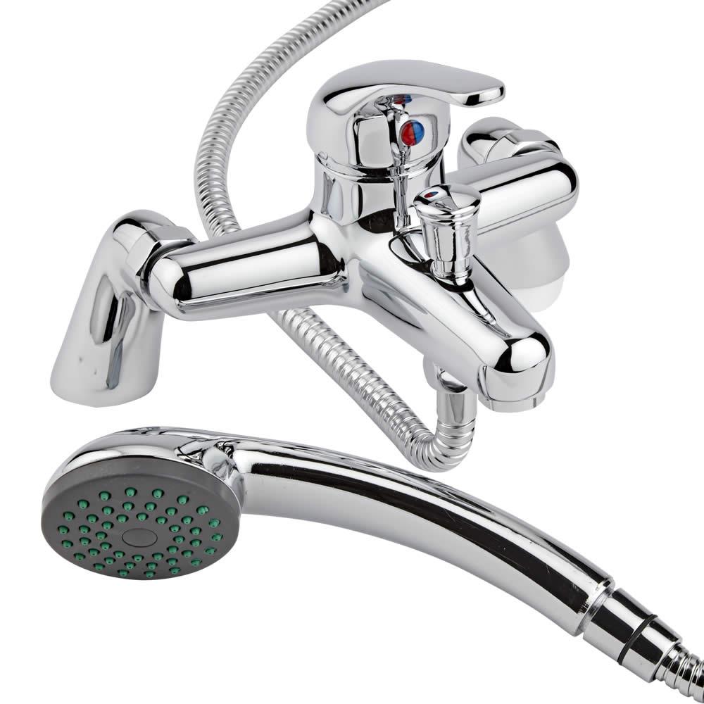 Mélangeur de baignoire avec douchette