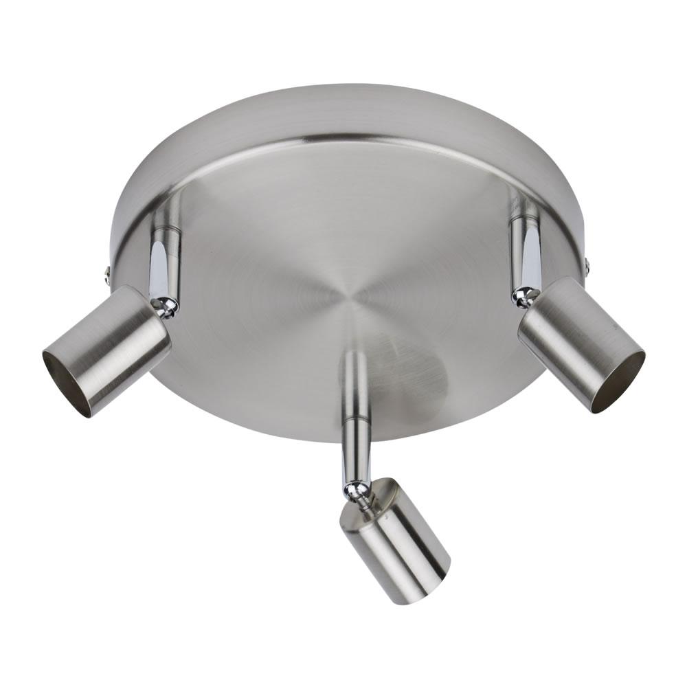 Biard Luminaire Plafonnier LED 3 x GU10 Boston