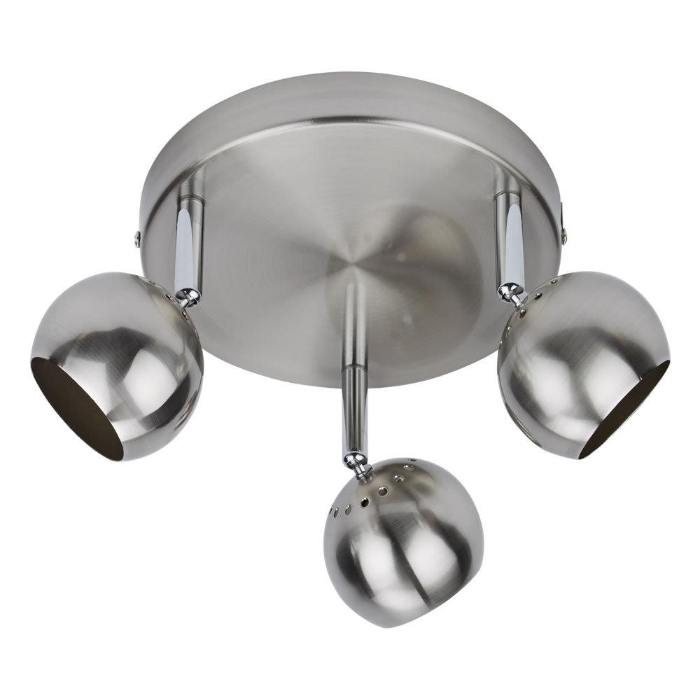 Biard Luminaire plafonnier LED 3 x GU10 Ohio