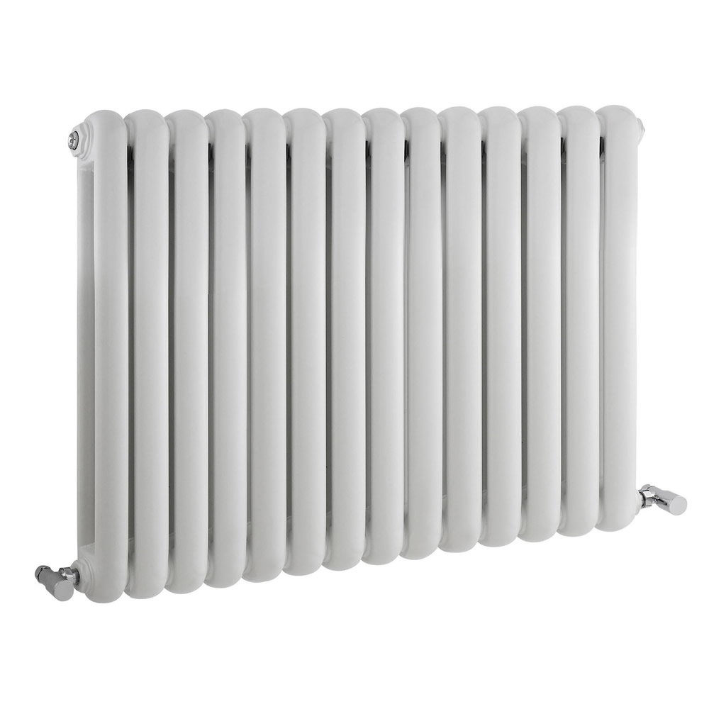 Radiateur Design Horizontal Blanc Saffre 63,5cm x 86,3cm x 8cm 1496 Watts