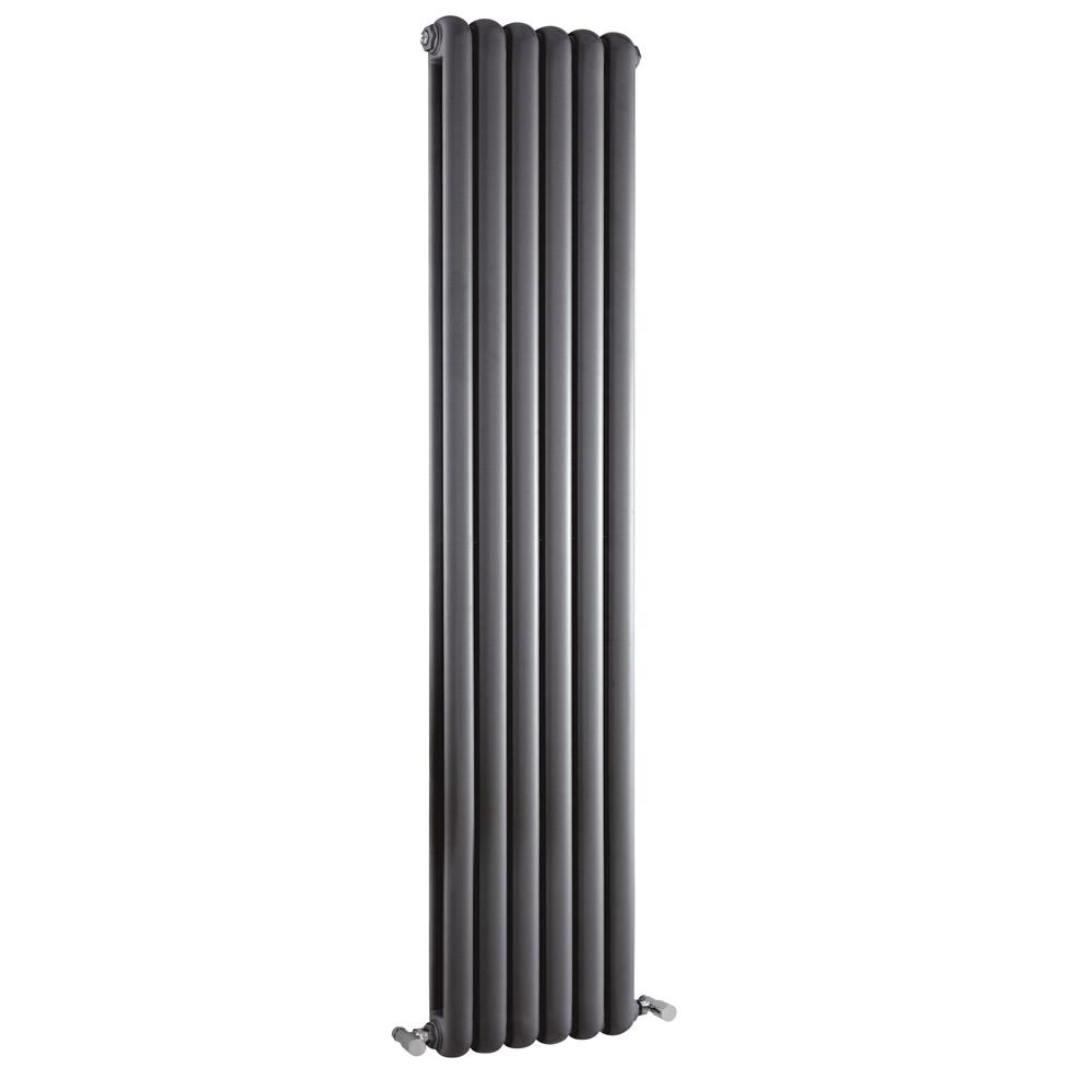 Radiateur Design Vertical Anthracite Saffre 150cm x 38,3cm x 8cm 1671 Watts