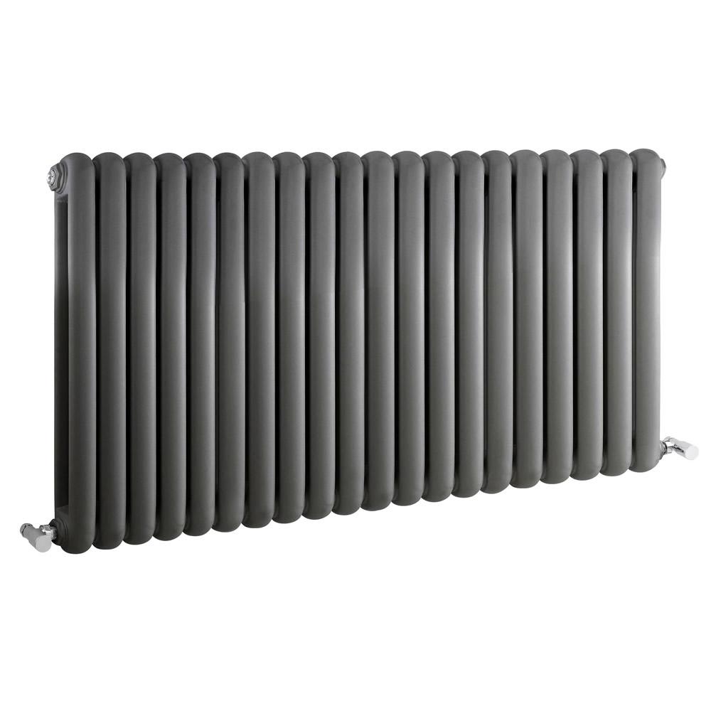 Radiateur Design Horizontal Anthracite Saffre 63,5cm x 122,3cm x 8cm 2082 Watts