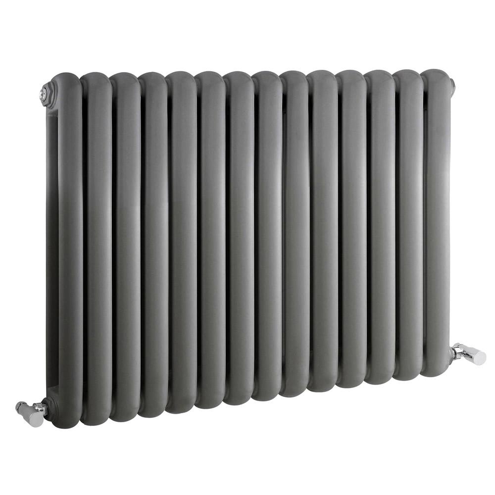 Radiateur Design Horizontal Anthracite Saffre 63,5cm x 86,3cm x 8cm 1496 Watts