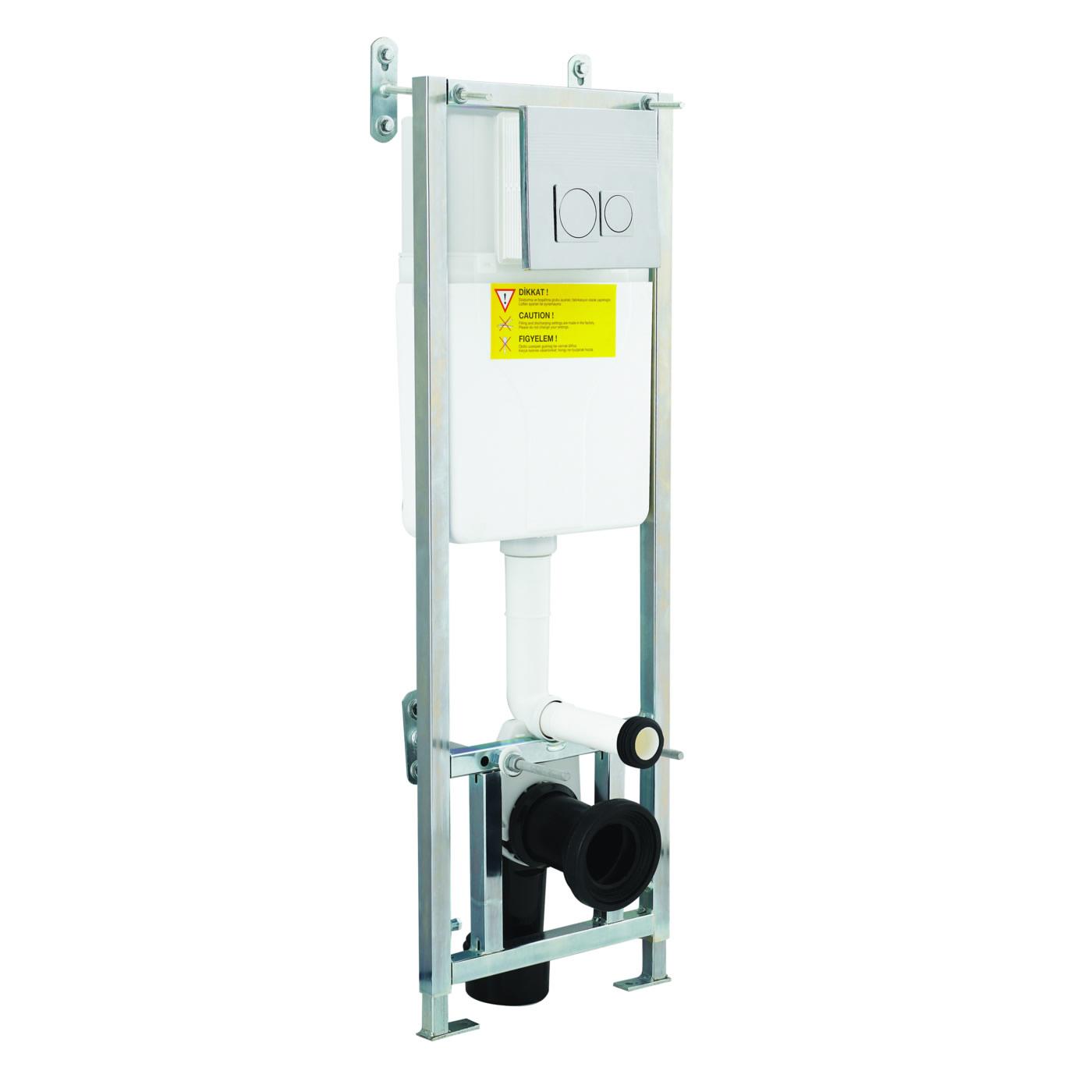 Réservoir châssis pour Toilettes WC suspendus 39.5 x 110cm