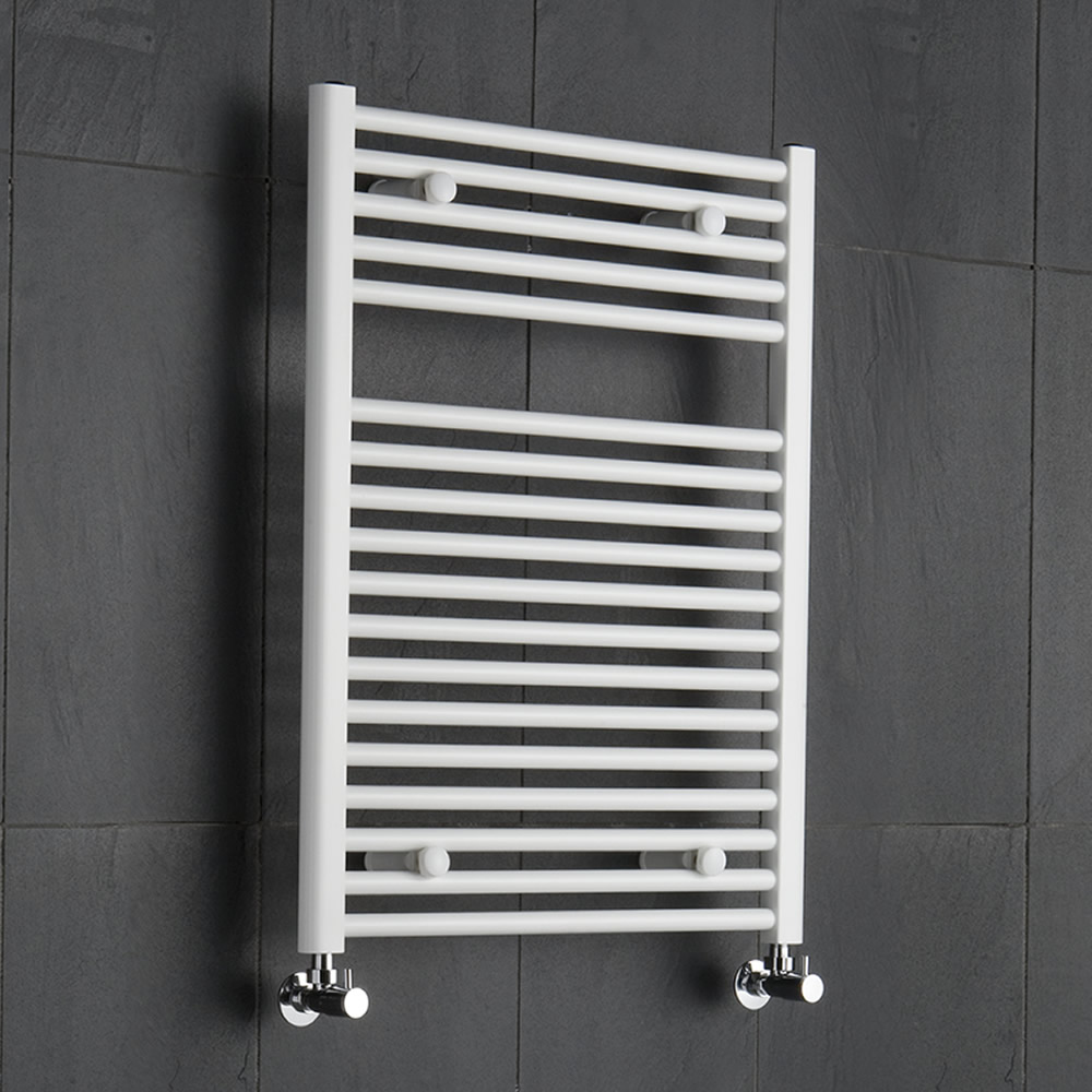Sèche-Serviettes Blanc Etna 80cm x 60cm x 3cm 567 Watts
