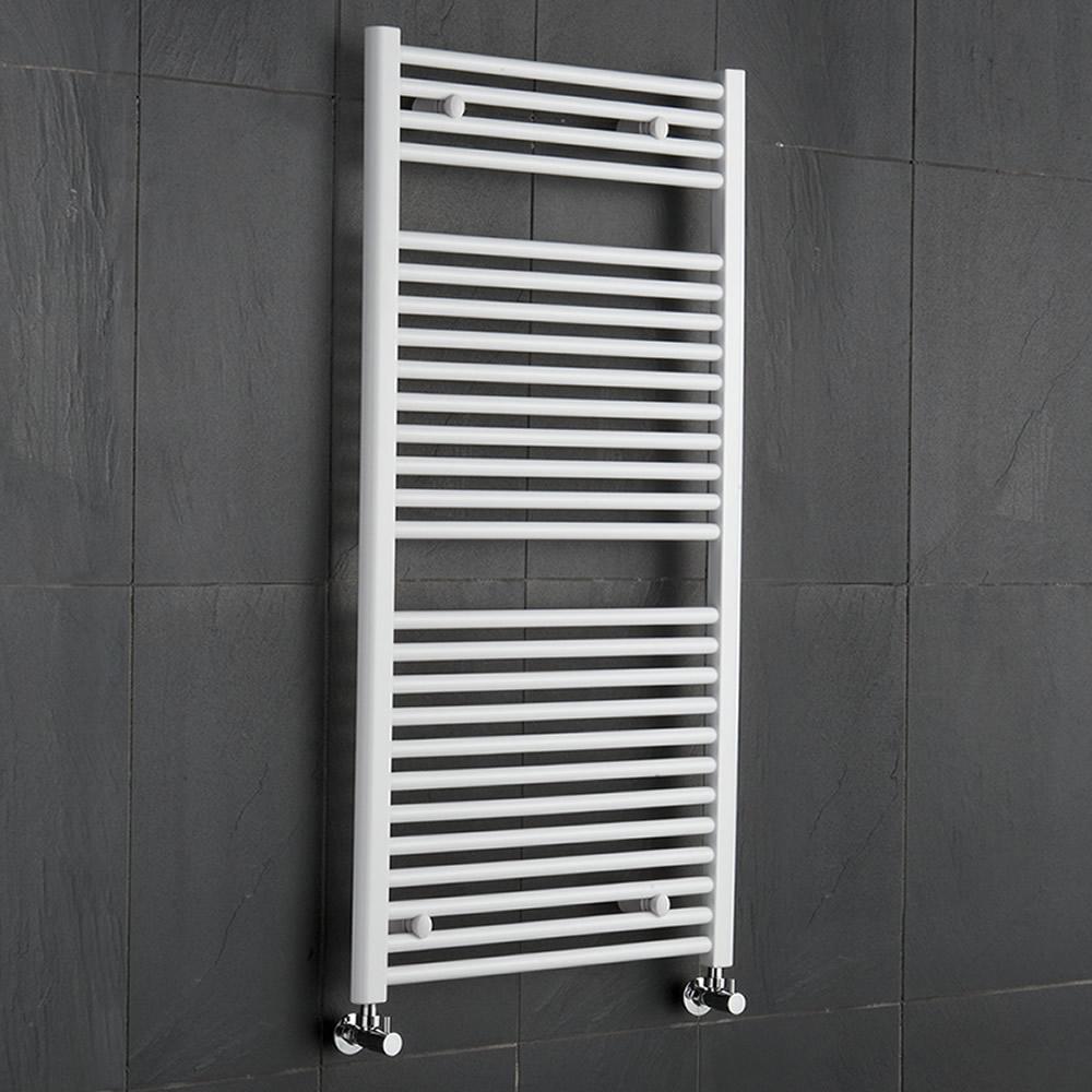 Sèche-Serviettes Blanc Etna 120cm x 60cm x 3cm 815 Watts