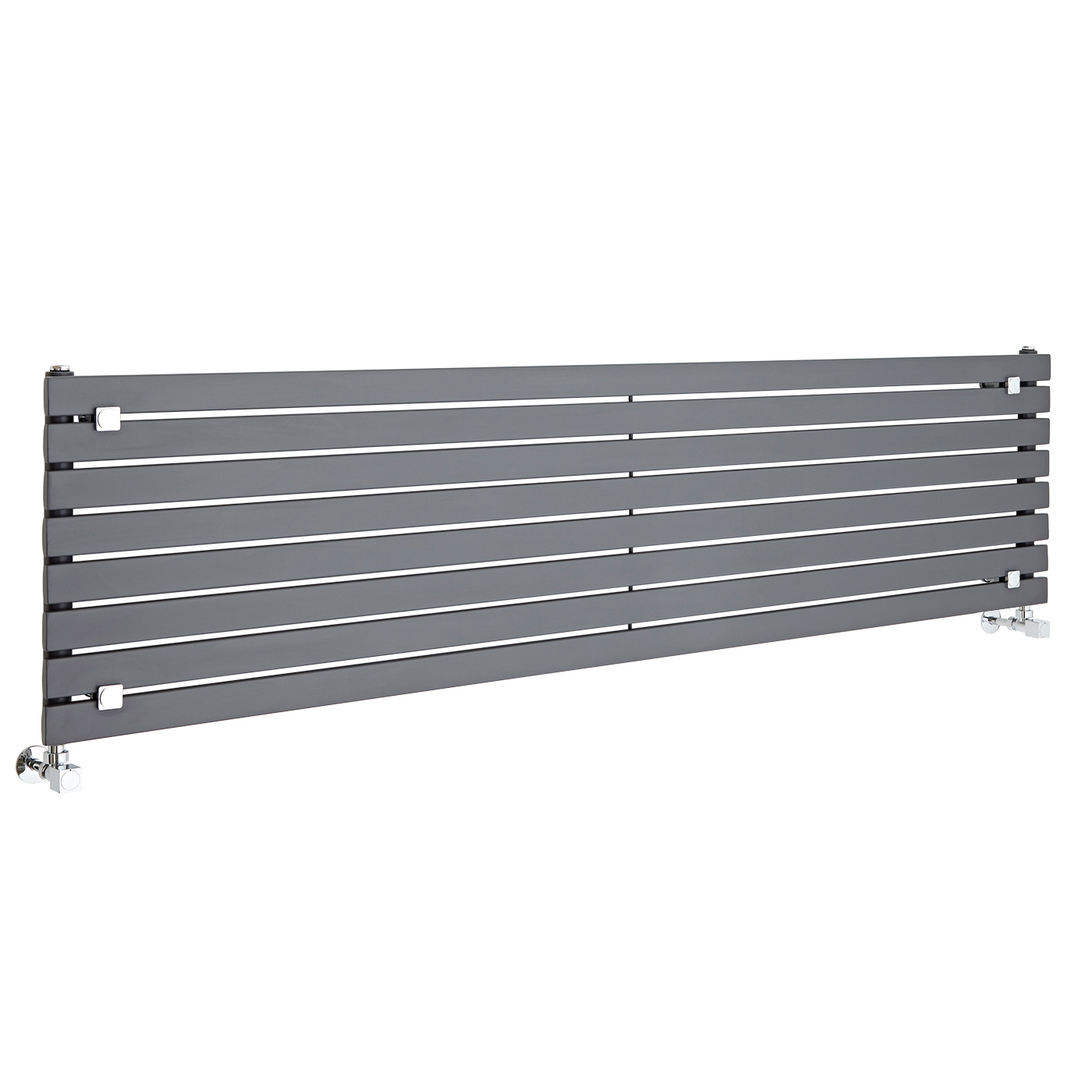 Radiateur Design Horizontal Anthracite Sloane 47,2cm x 178cm x 5,4cm 1145 Watts
