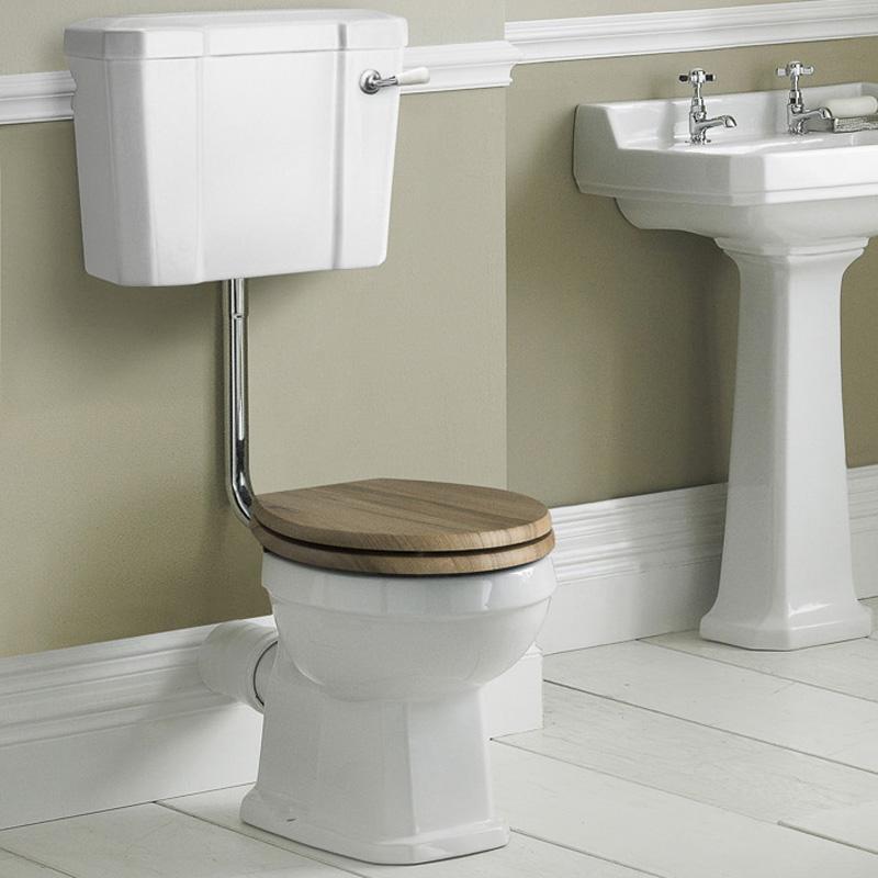 WC Rétro Carlton Chasse d'eau suspendue & Abattant au choix
