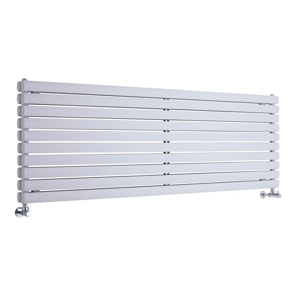 Radiateur Design Horizontal Blanc Vitality 59cm x 178cm x 7,8cm 2066 Watts