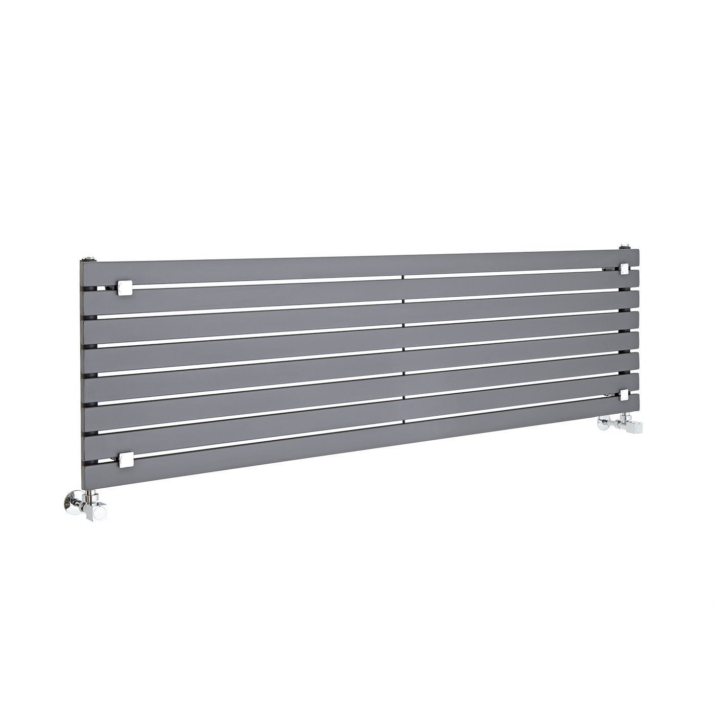 Radiateur Design Horizontal Anthracite Sloane 47,2cm x 160cm x 5,4cm 1043 Watts