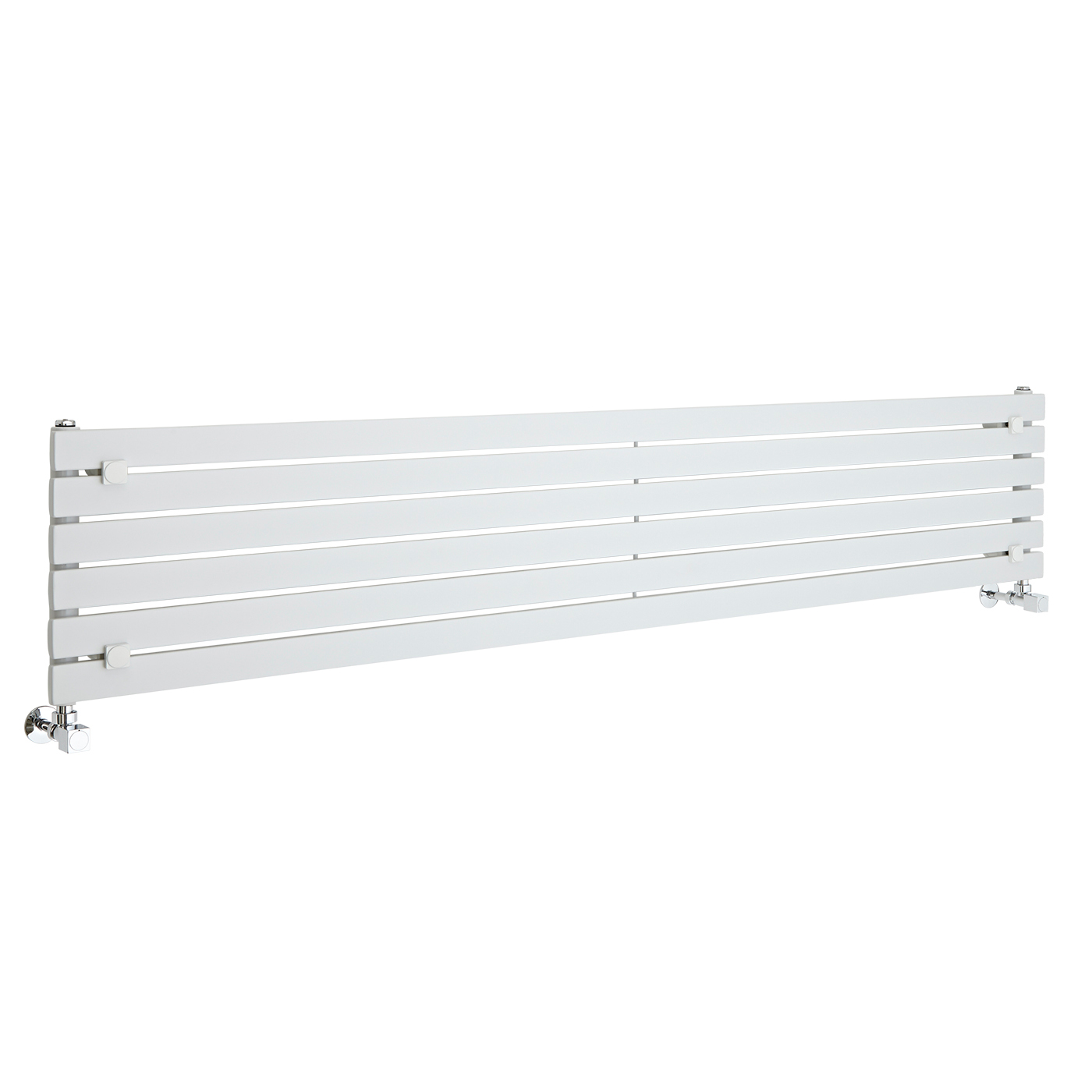 Radiateur Design Horizontal Blanc Sloane 35,4cm x 178cm x 5,4cm 821 Watts