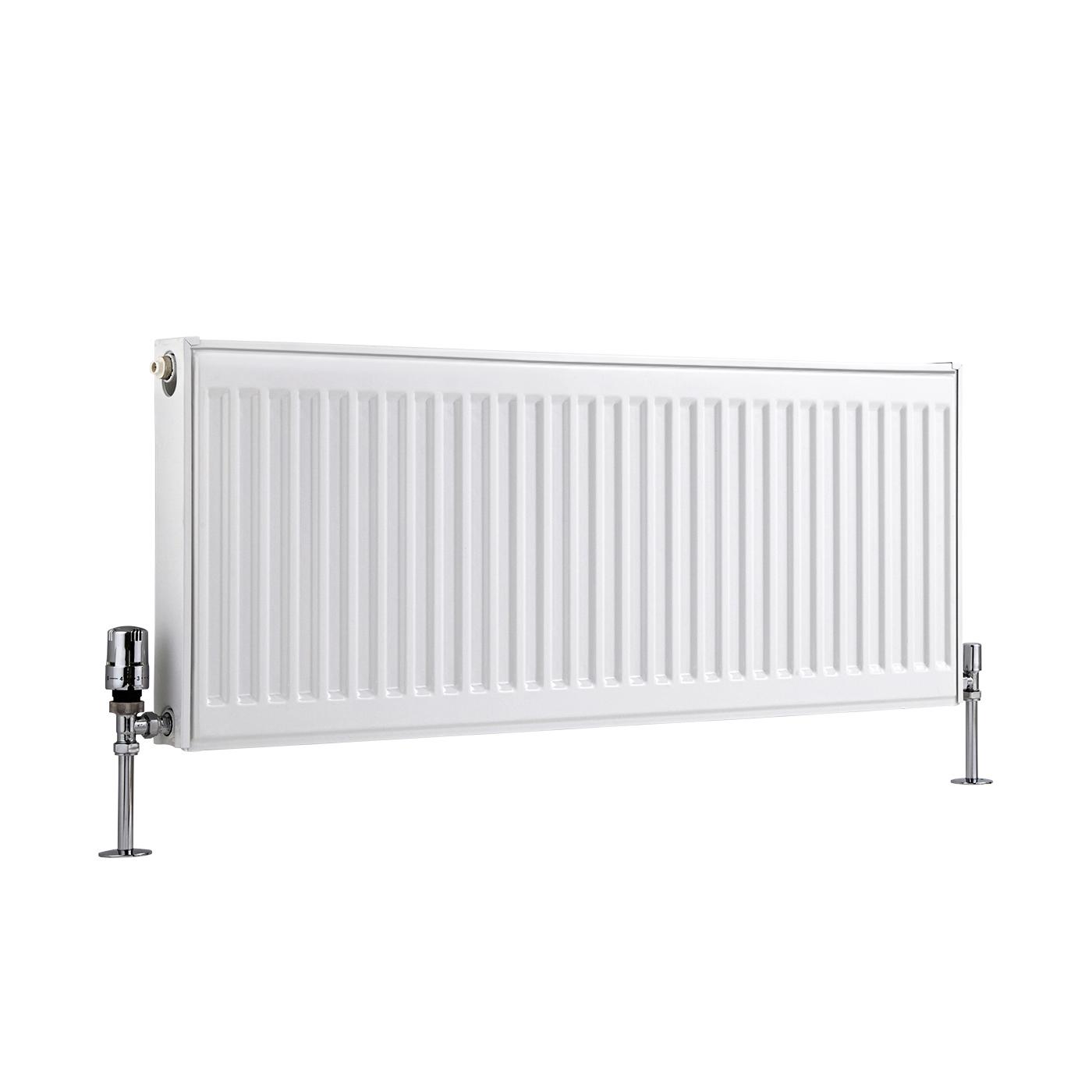 Radiateur À Panneaux Type 11 Horizontal Blanc Eco 40cm x 100cm x 5cm 683 Watts