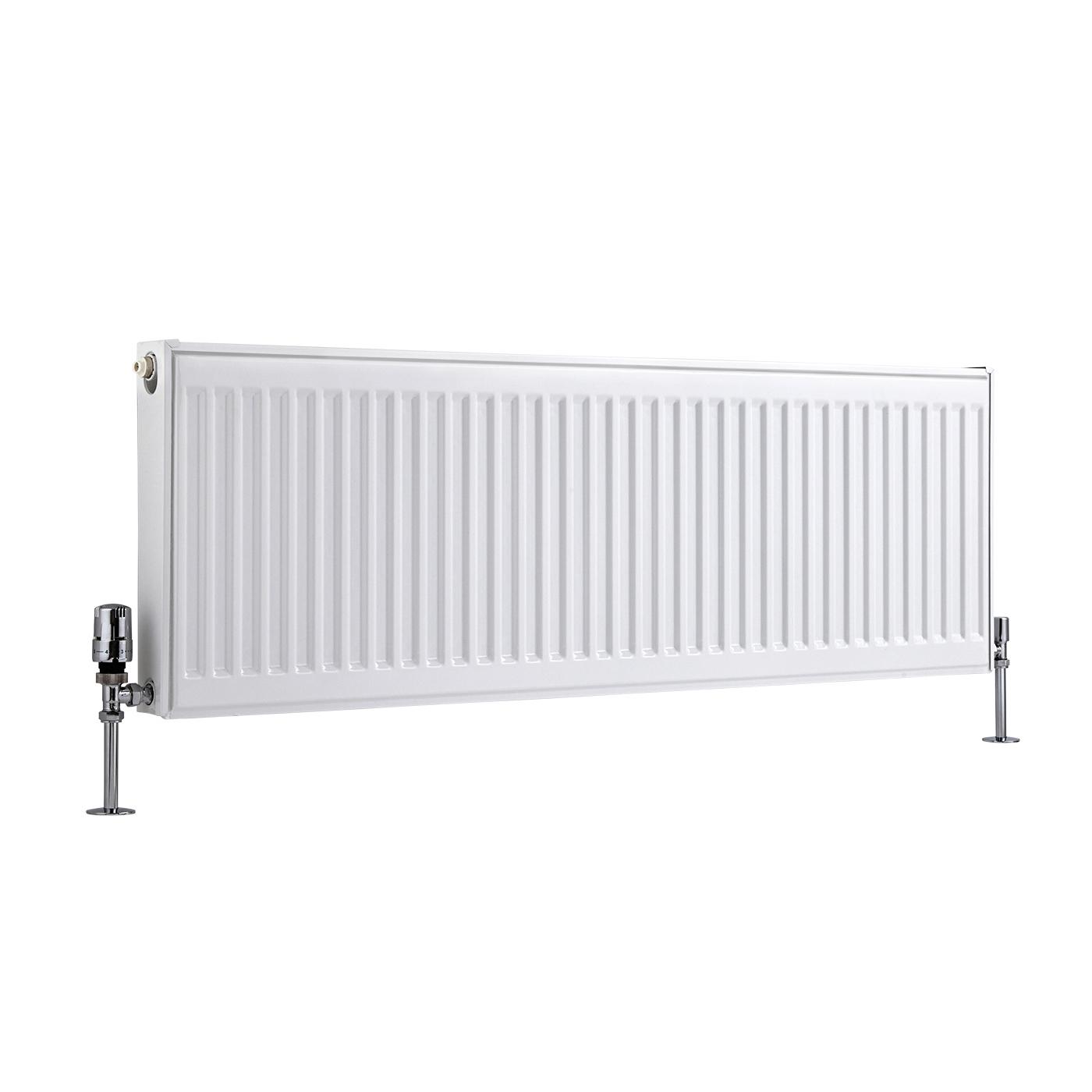 Radiateur À Panneaux Type 11 Horizontal Blanc Eco 40cm x 120cm x 5cm 820 Watts