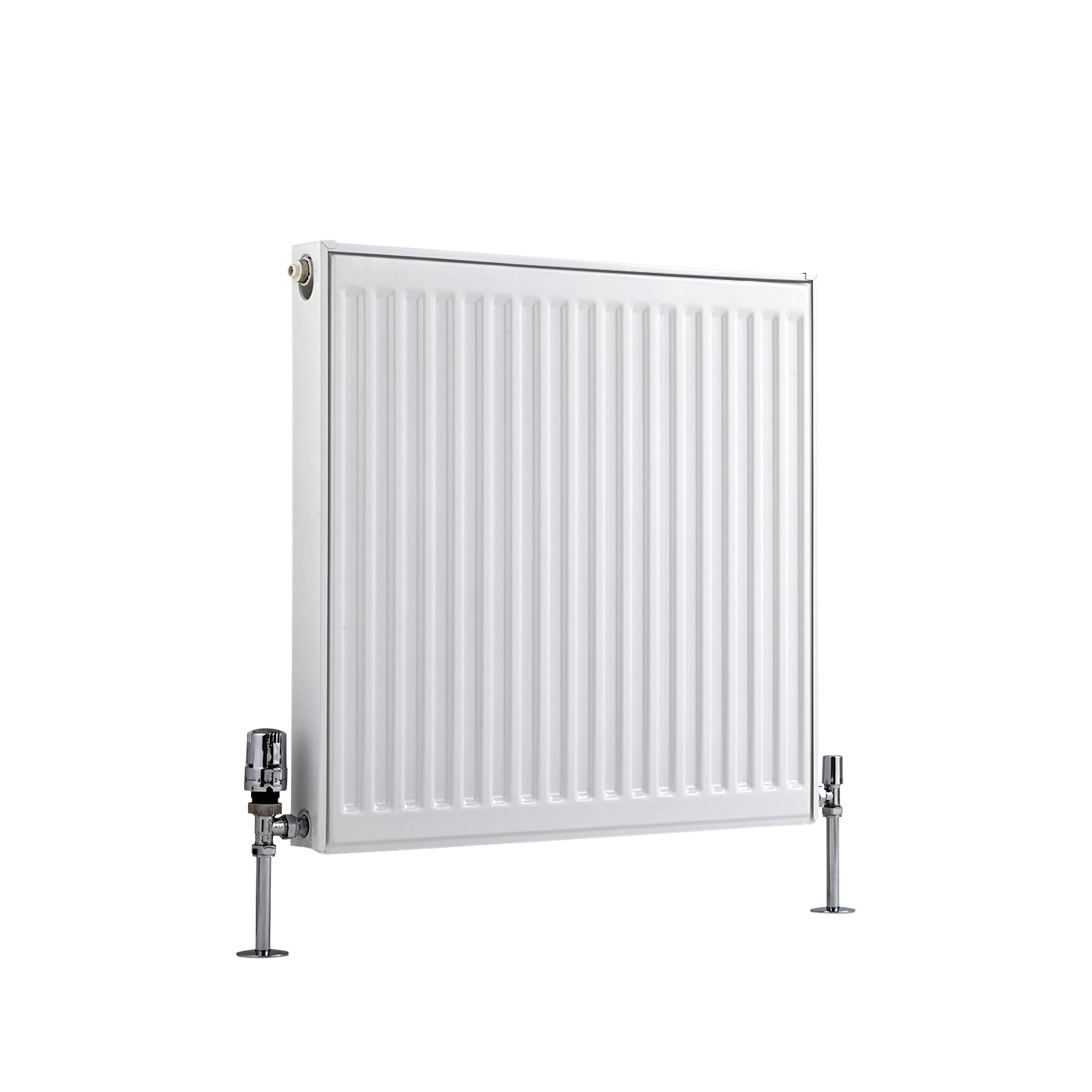 Radiateur À Panneaux Type 11 Horizontal Blanc Eco 60cm x 60cm x 5cm 555 Watts