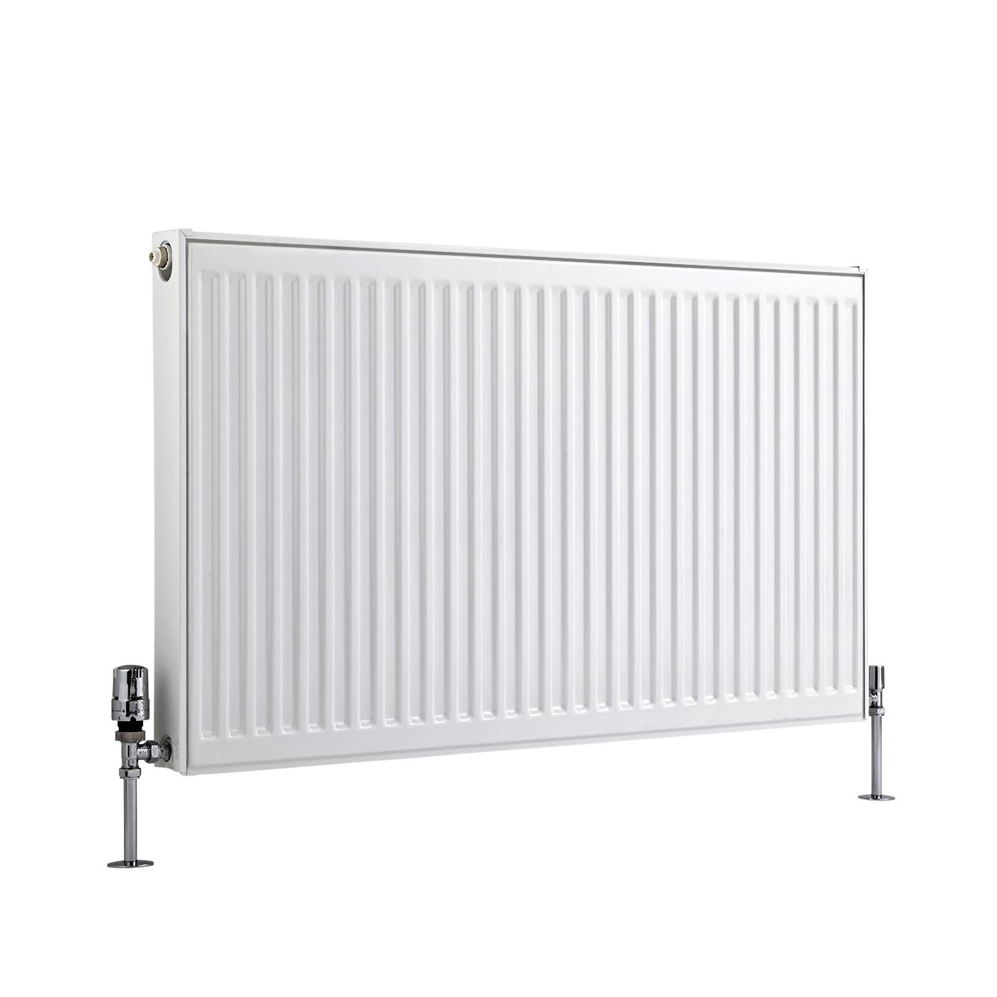 Radiateur À Panneaux Type 11 Horizontal Blanc Eco 60cm x 100cm x 5cm 926 Watts