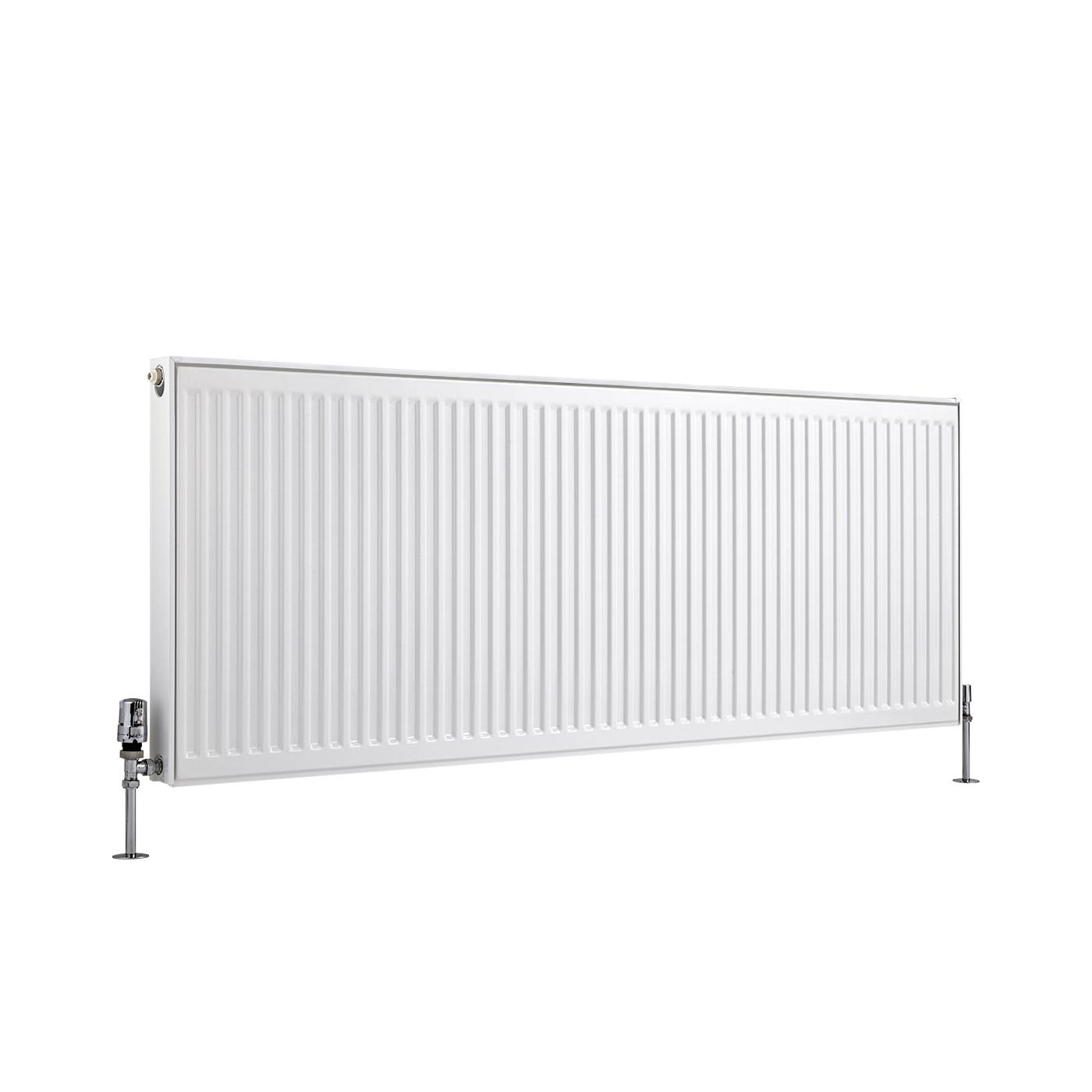 Radiateur À Panneaux Type 11 Horizontal Blanc Eco 60cm x 160cm x 5cm 1482 Watts