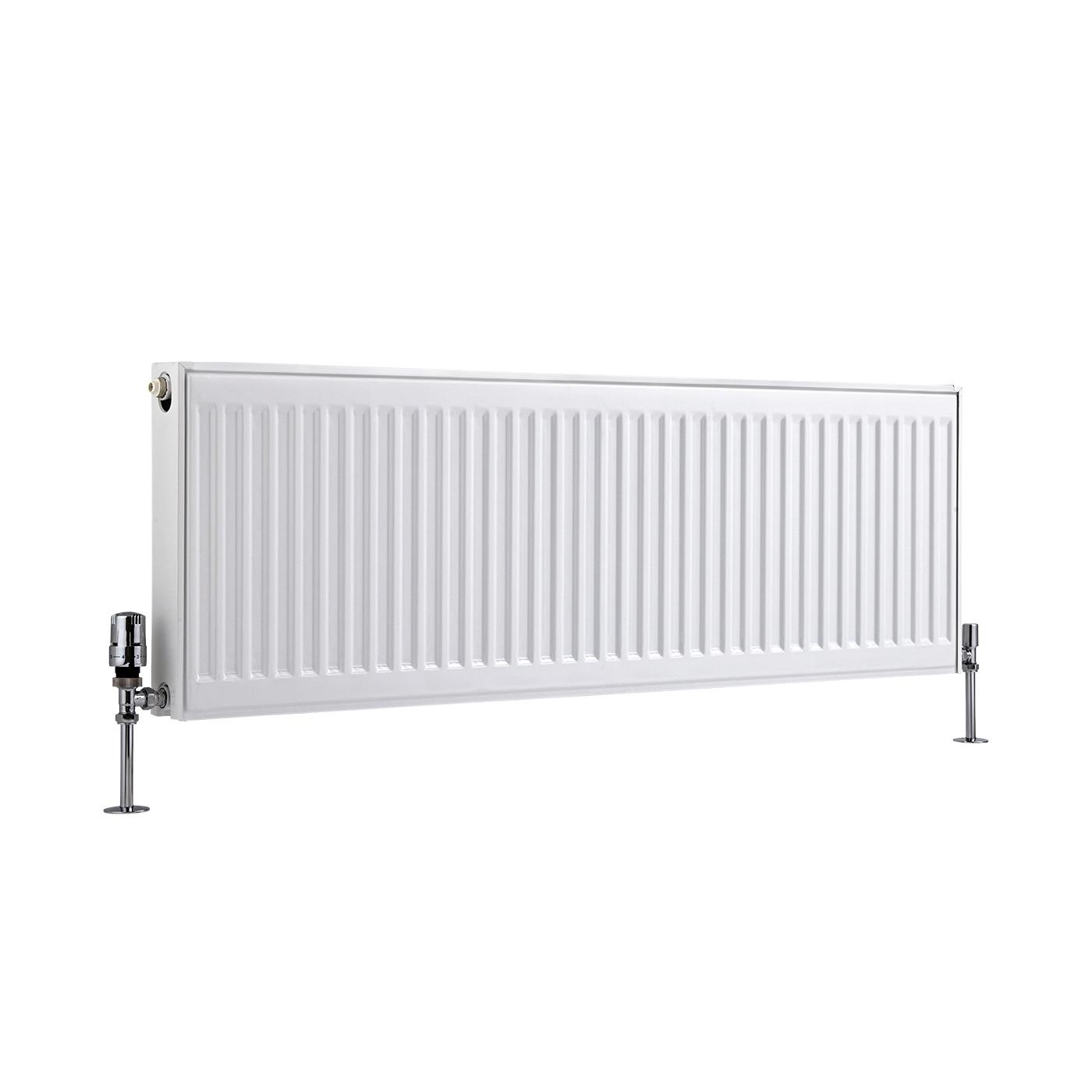 Radiateur À Panneaux Type 21 Horizontal Blanc Eco 40cm x 120cm x 7,3cm 1147 Watts