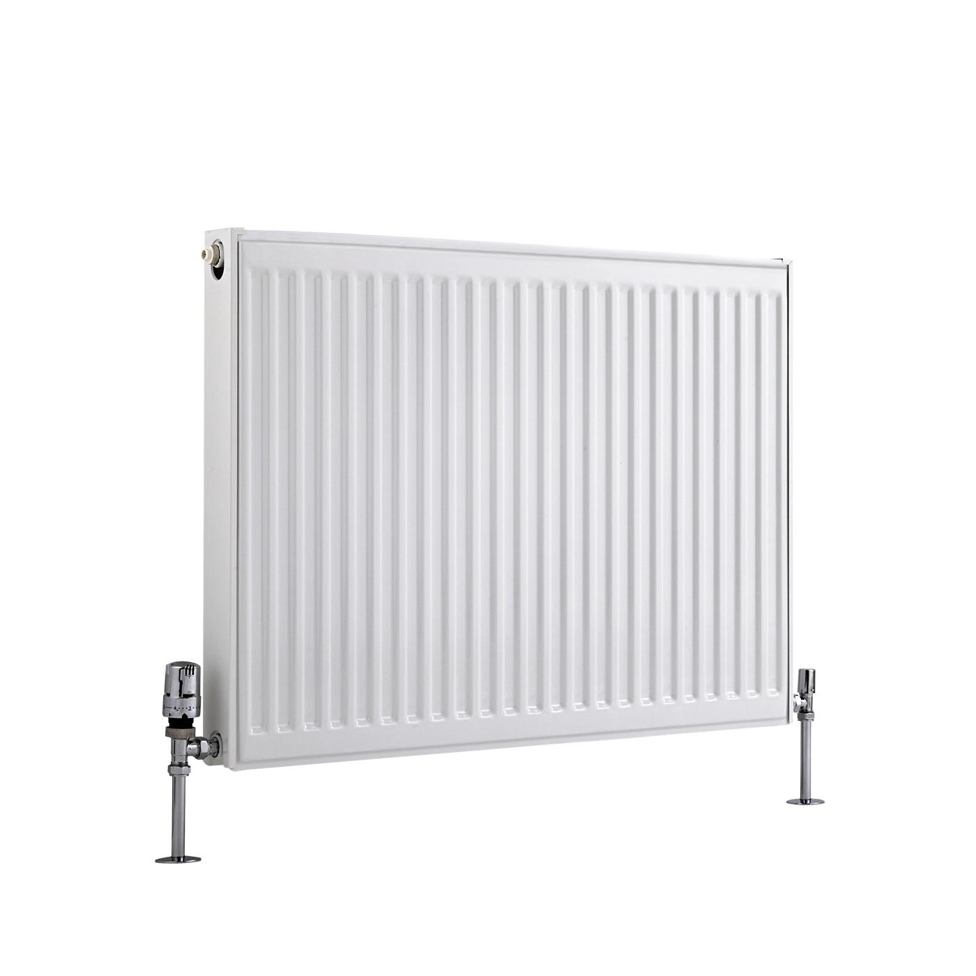 Radiateur À Panneaux Type 21 Horizontal Blanc Eco 60cm x 80cm x 7,3cm 1071 Watts