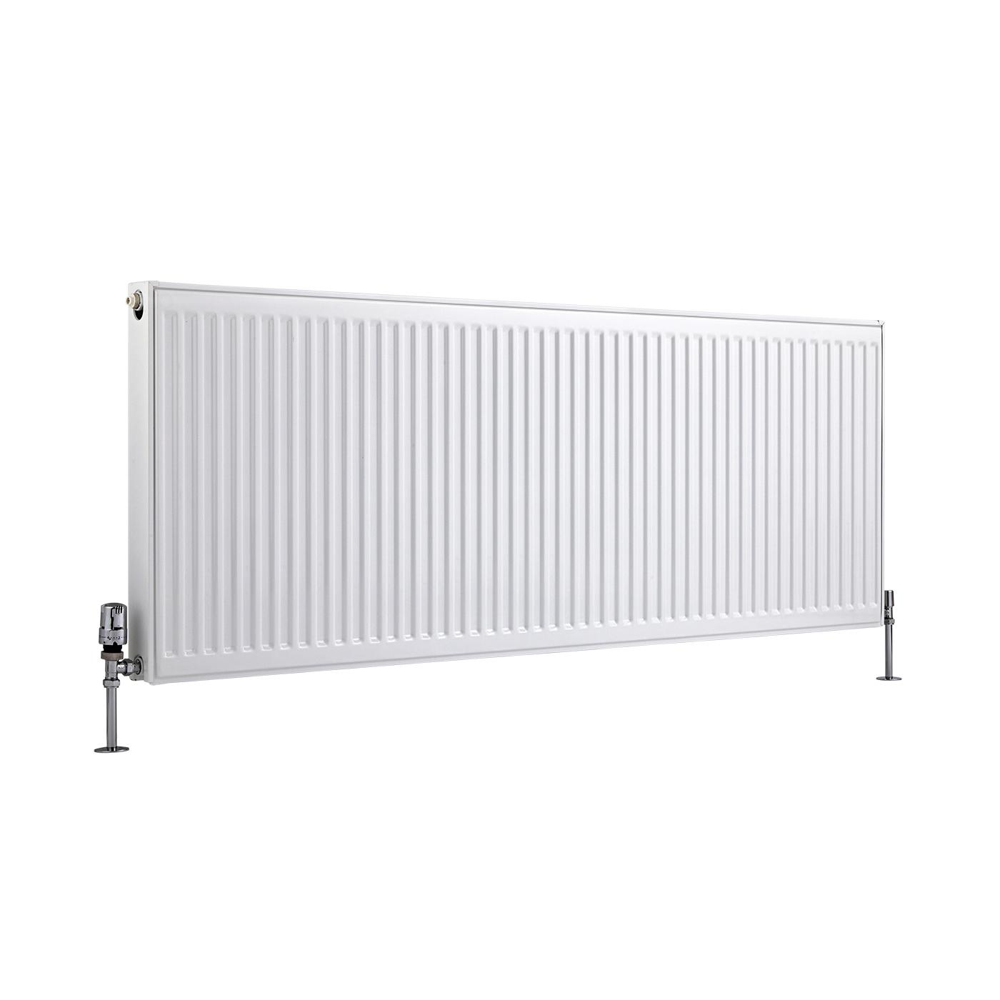 Radiateur À Panneaux Type 21 Horizontal Blanc Eco 60cm x 160cm x 7,3cm 2142 Watts