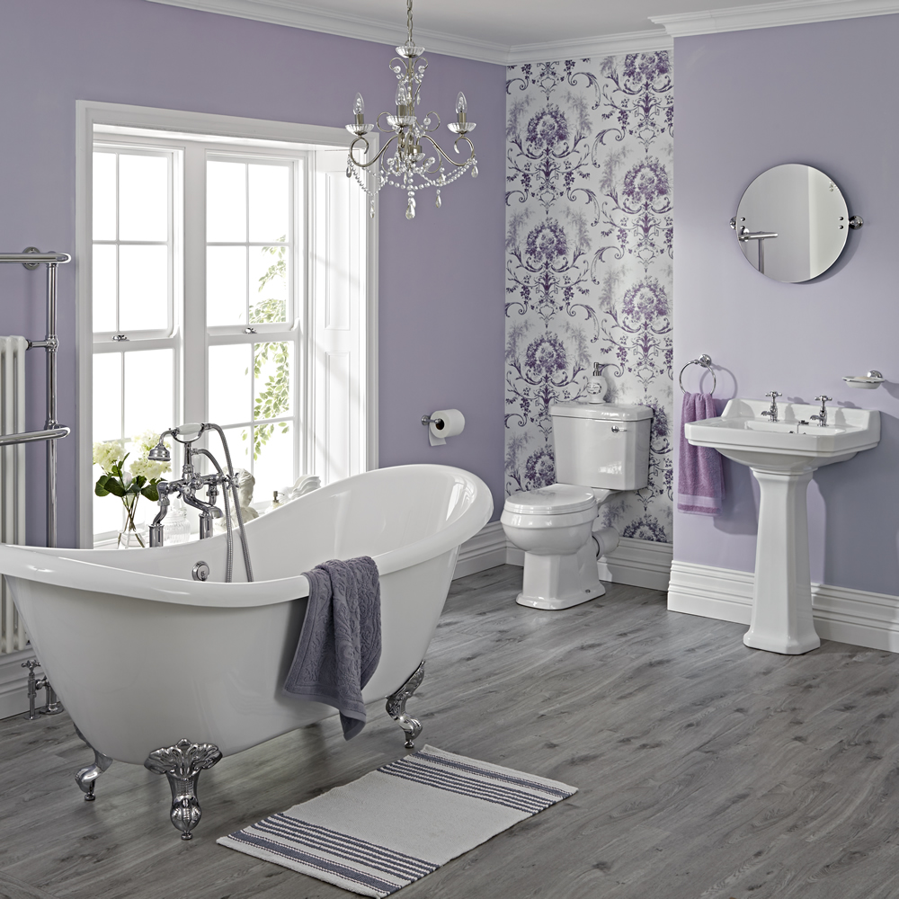 Big Bathrooms Ideas: Ensemble Baignoire Ilot, Lavabo & WC Carlton