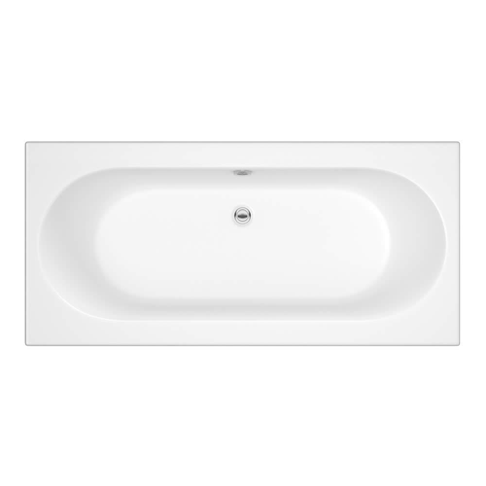 Baignoire rectangulaire blanche 70x170cm