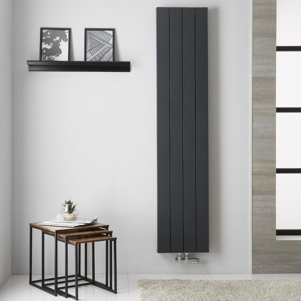 Radiateur Aluminium Anthracite Kett – 180cm x 37,5cm