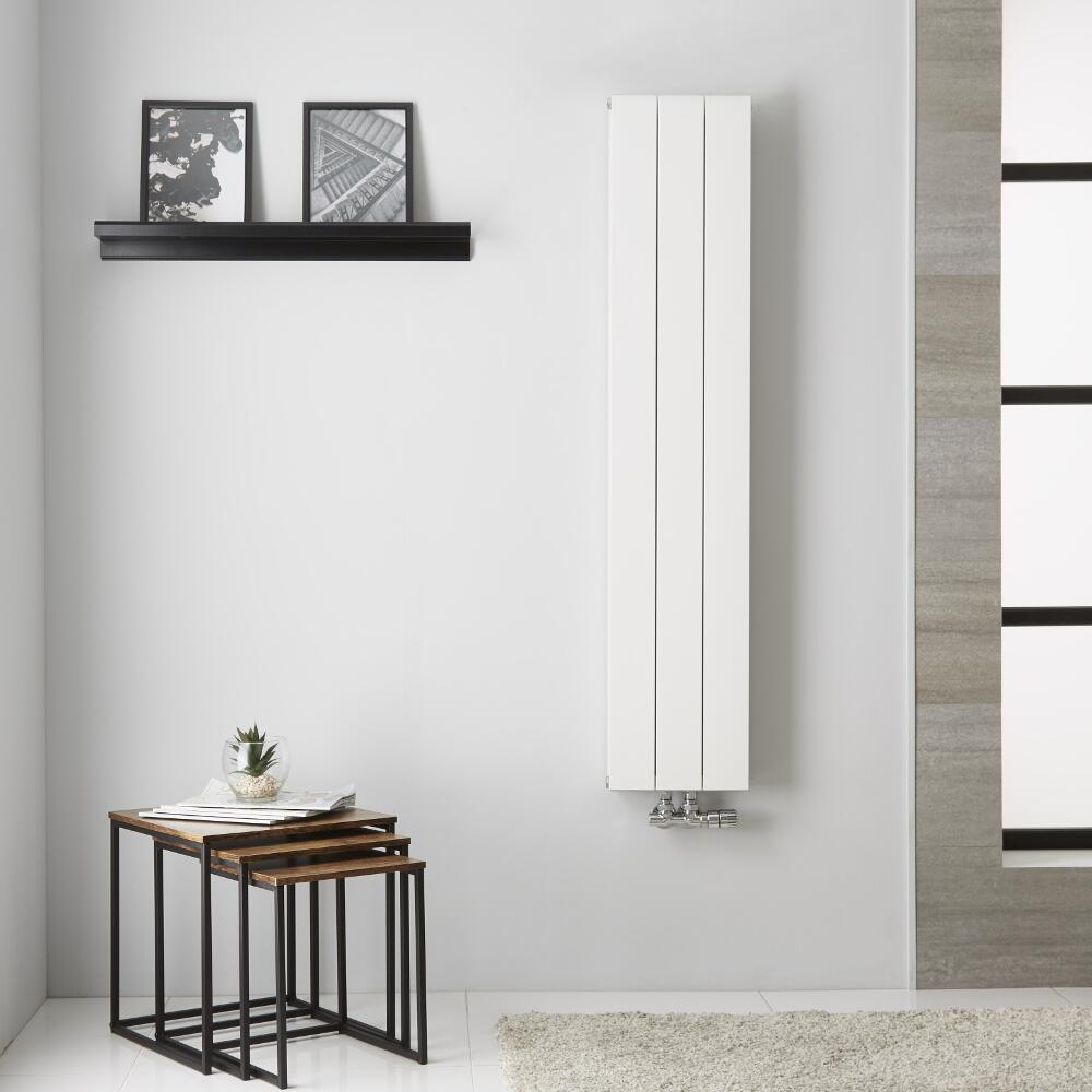 Radiateur Aluminium Blanc Kett – 140cm x 28cm