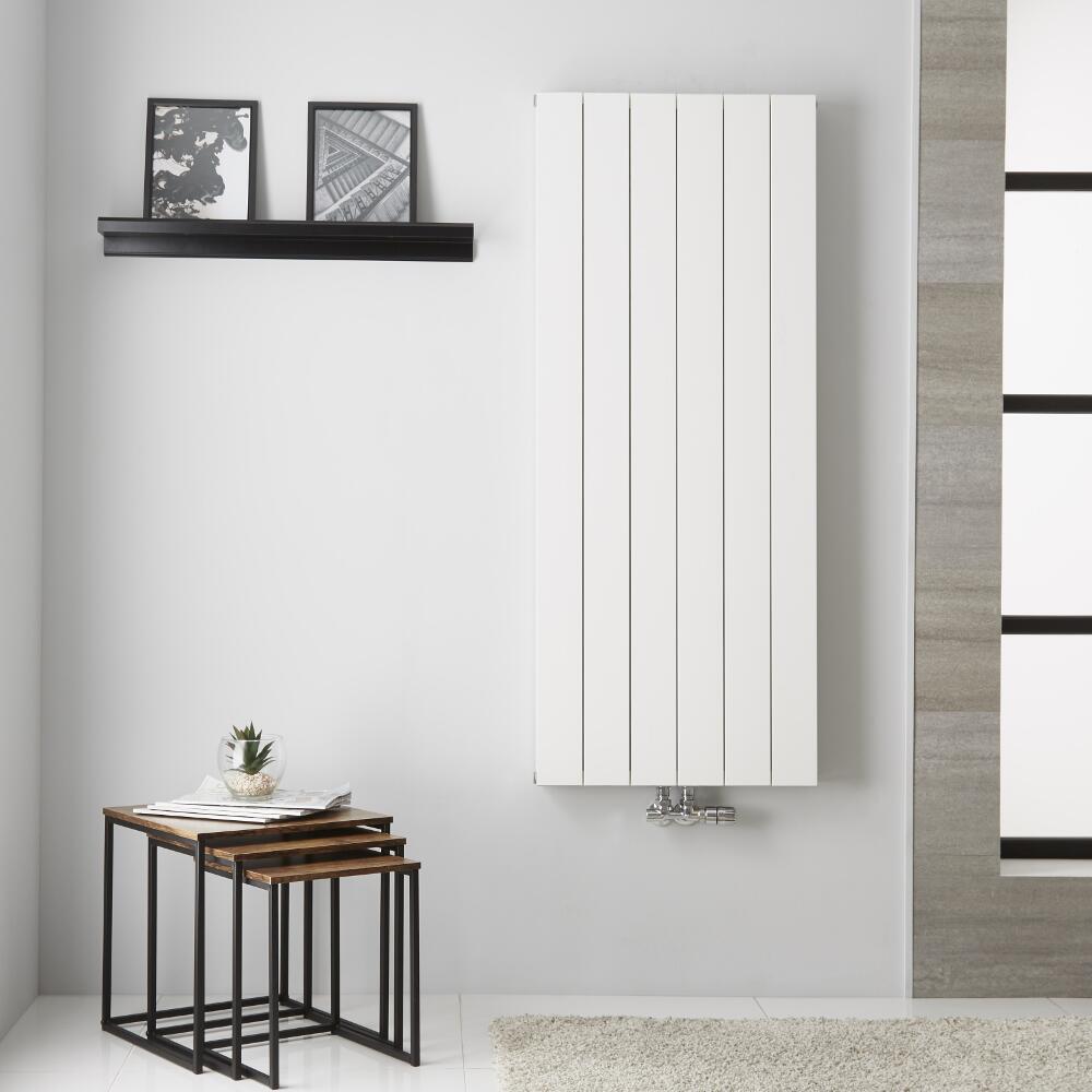 Radiateur Aluminium Blanc Kett – 140cm x 56,5cm