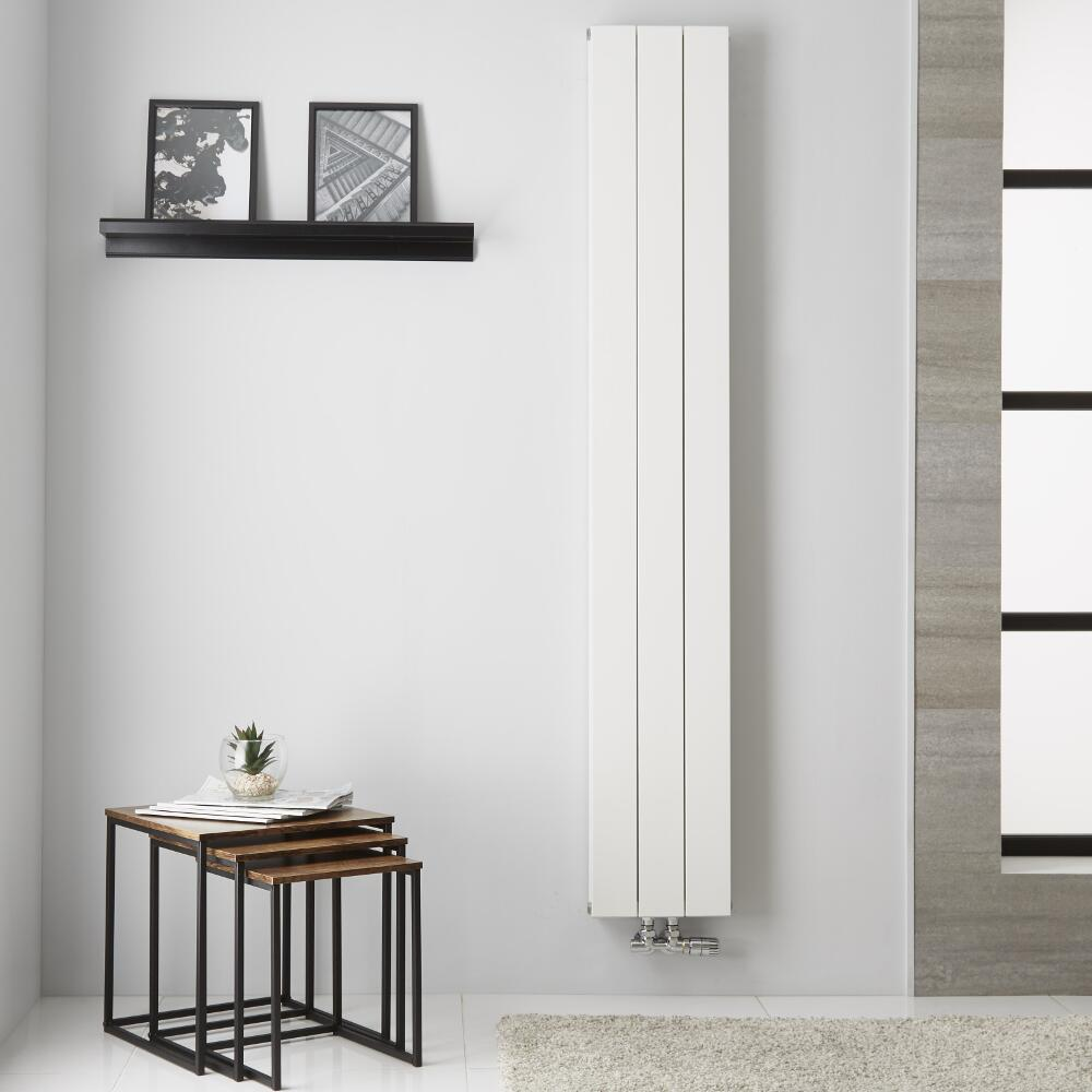 Radiateur Aluminium Blanc Kett – 180cm x 28cm