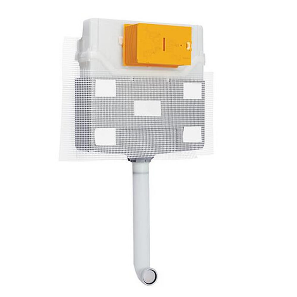 Réservoir chasse d'eau WC 42,5 x 48,8 x 12,6cm