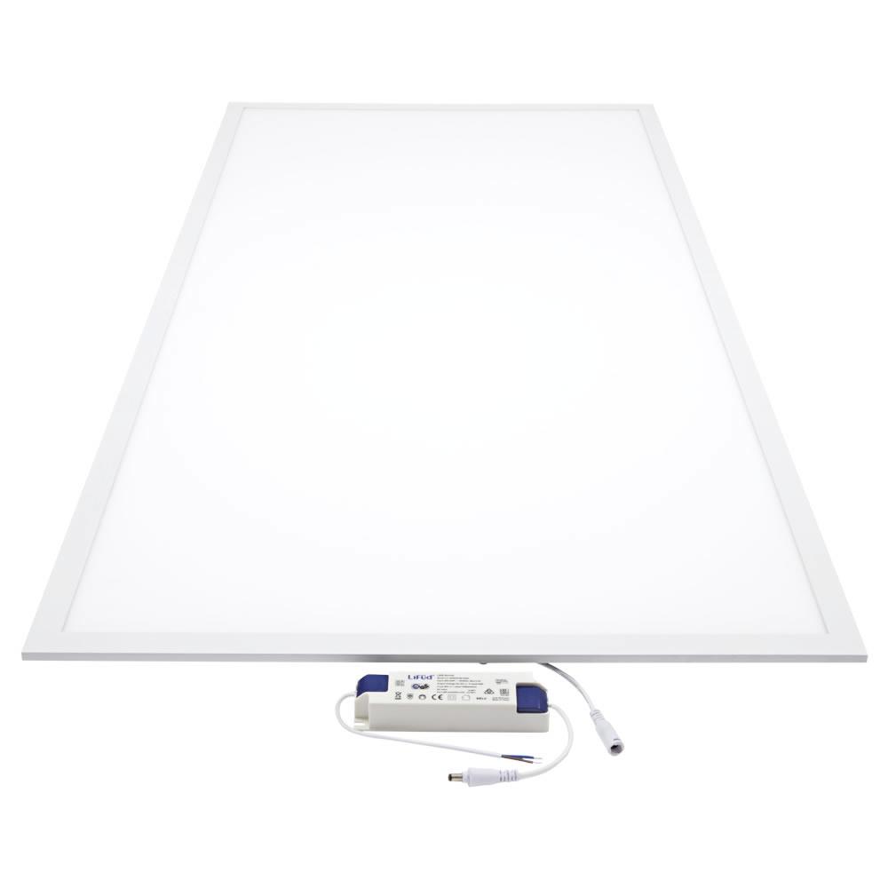 Biard Plafonnier LED 60W 60x120cm Cadre Blanc