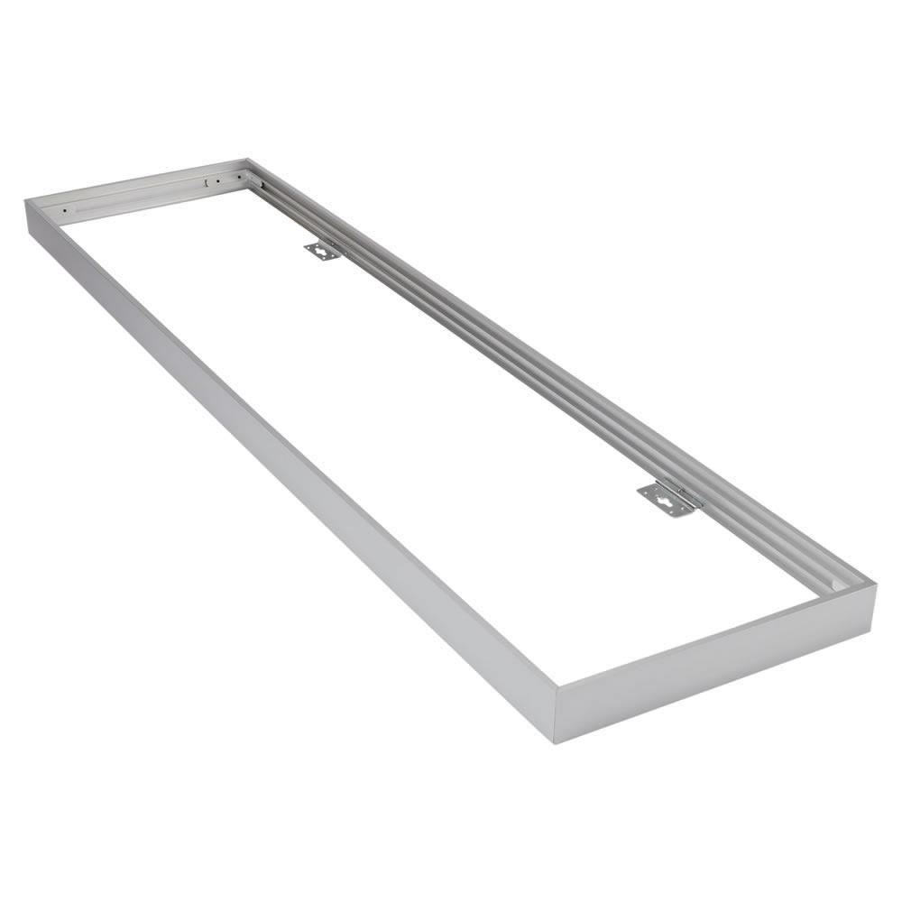 Biard Fixation pour Plafonnier LED 30x120cm Argenté