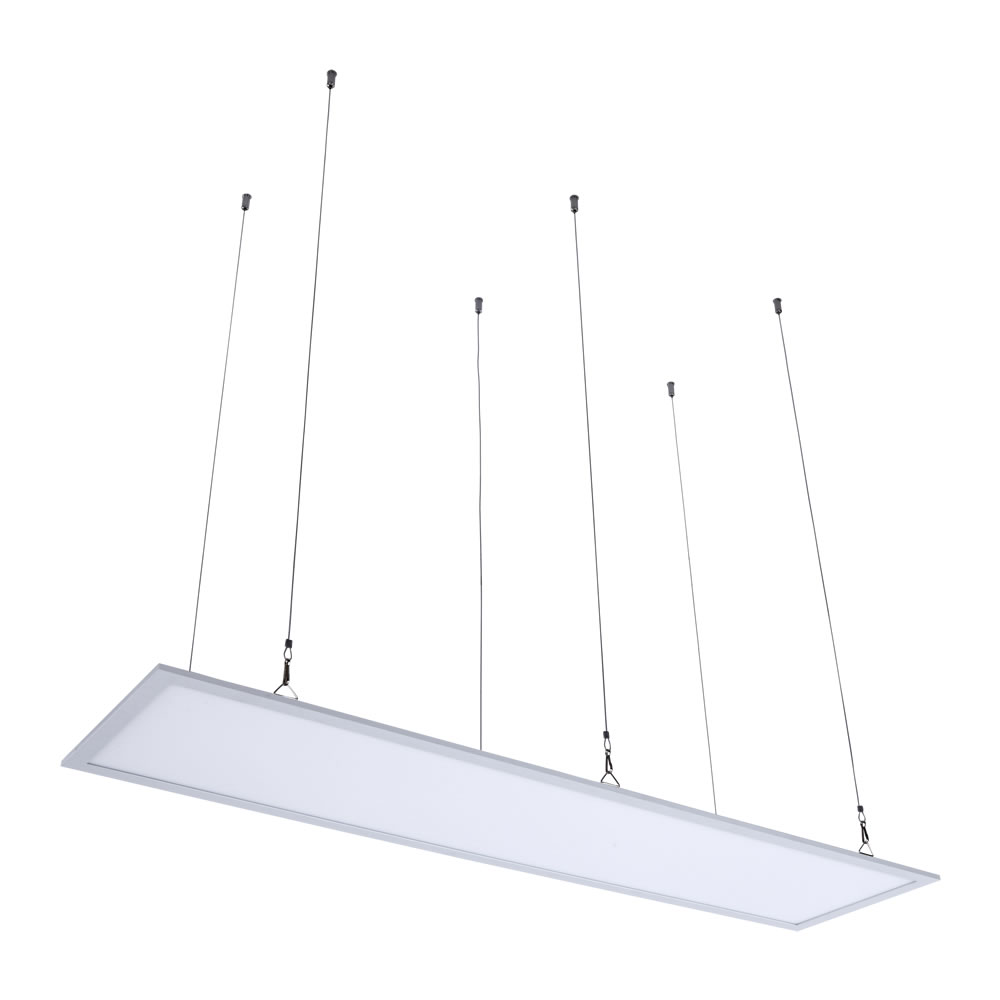 Biard Câble tendu pour Plafonnier LED 30x120cm - Lot de 6