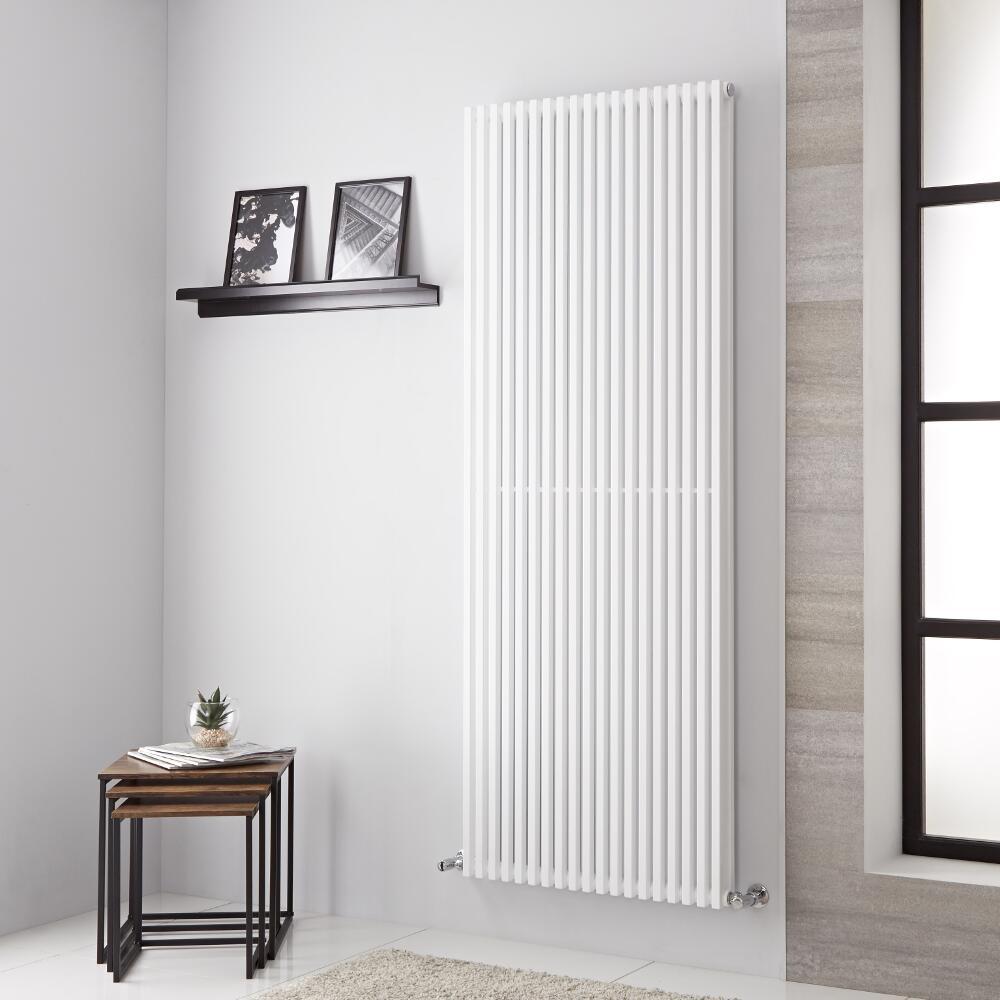 Neive - Radiateur Design Blanc - 180.6cm x 68cm