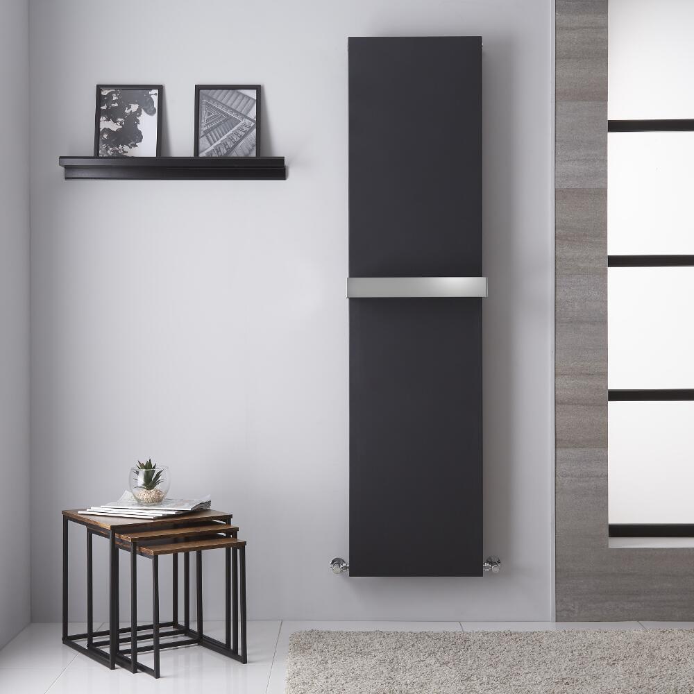 Trevi - Radiateur Vertical Design Anthracite - 180cm x 45cm
