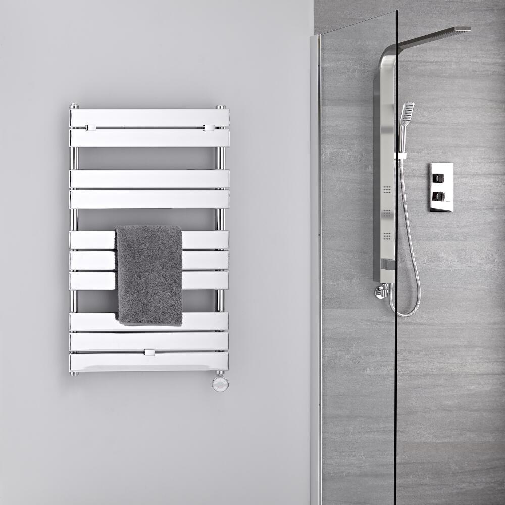 s che serviettes lectrique chrom 100 x 60cm lustro. Black Bedroom Furniture Sets. Home Design Ideas