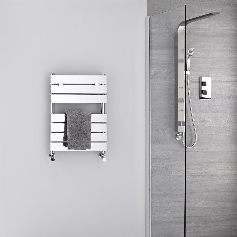 Sèche-serviettes eau chaude Chromé 62 x 45cm 209 watts Lustro