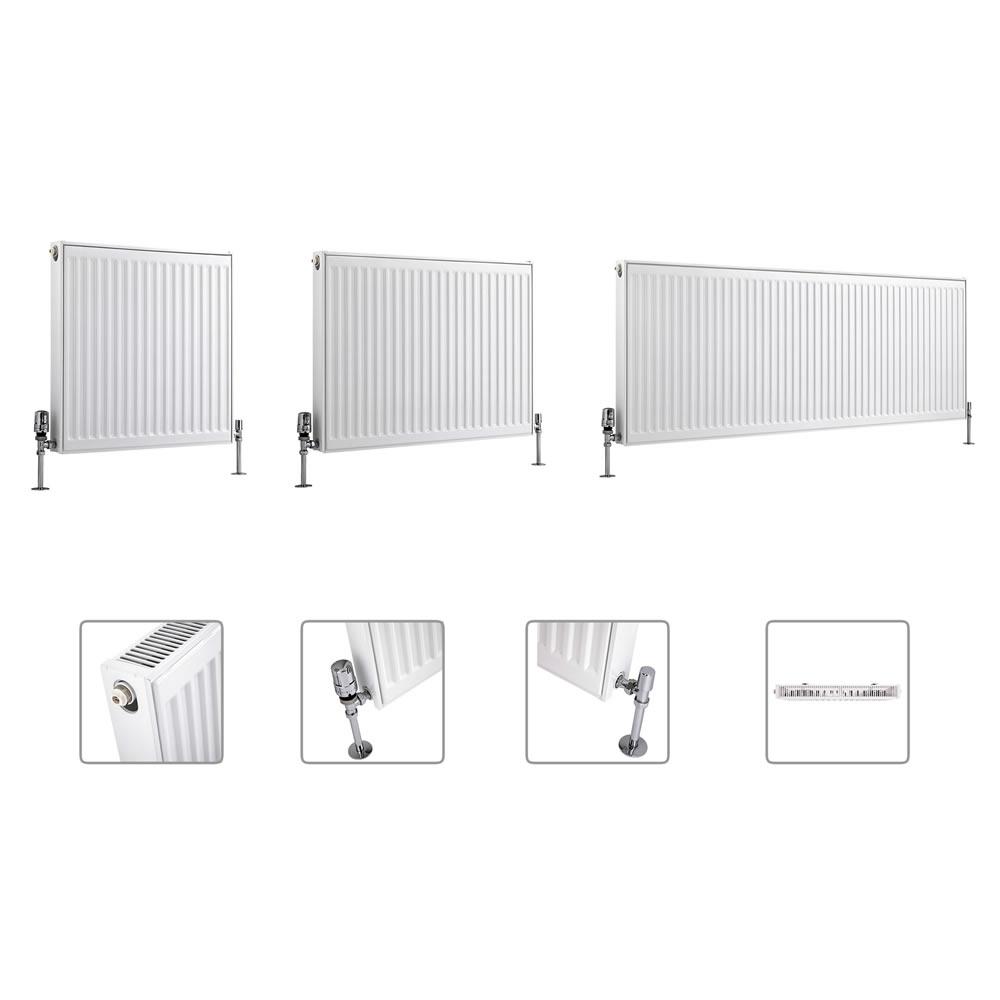 Radiateur à Panneaux Type 11 - Tailles Multiples