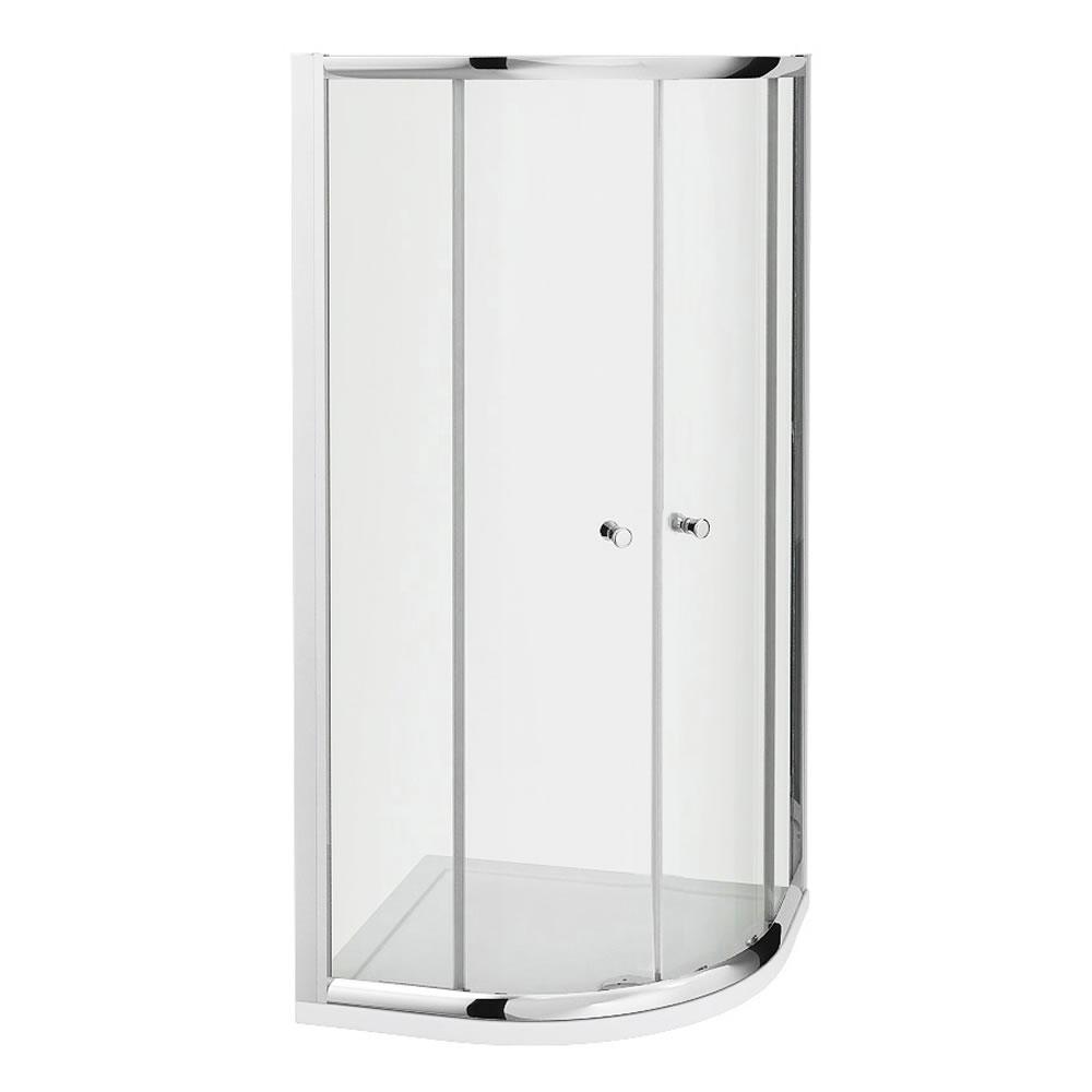 cabine de douche acc s d 39 angle 80x195cm receveur hutton. Black Bedroom Furniture Sets. Home Design Ideas