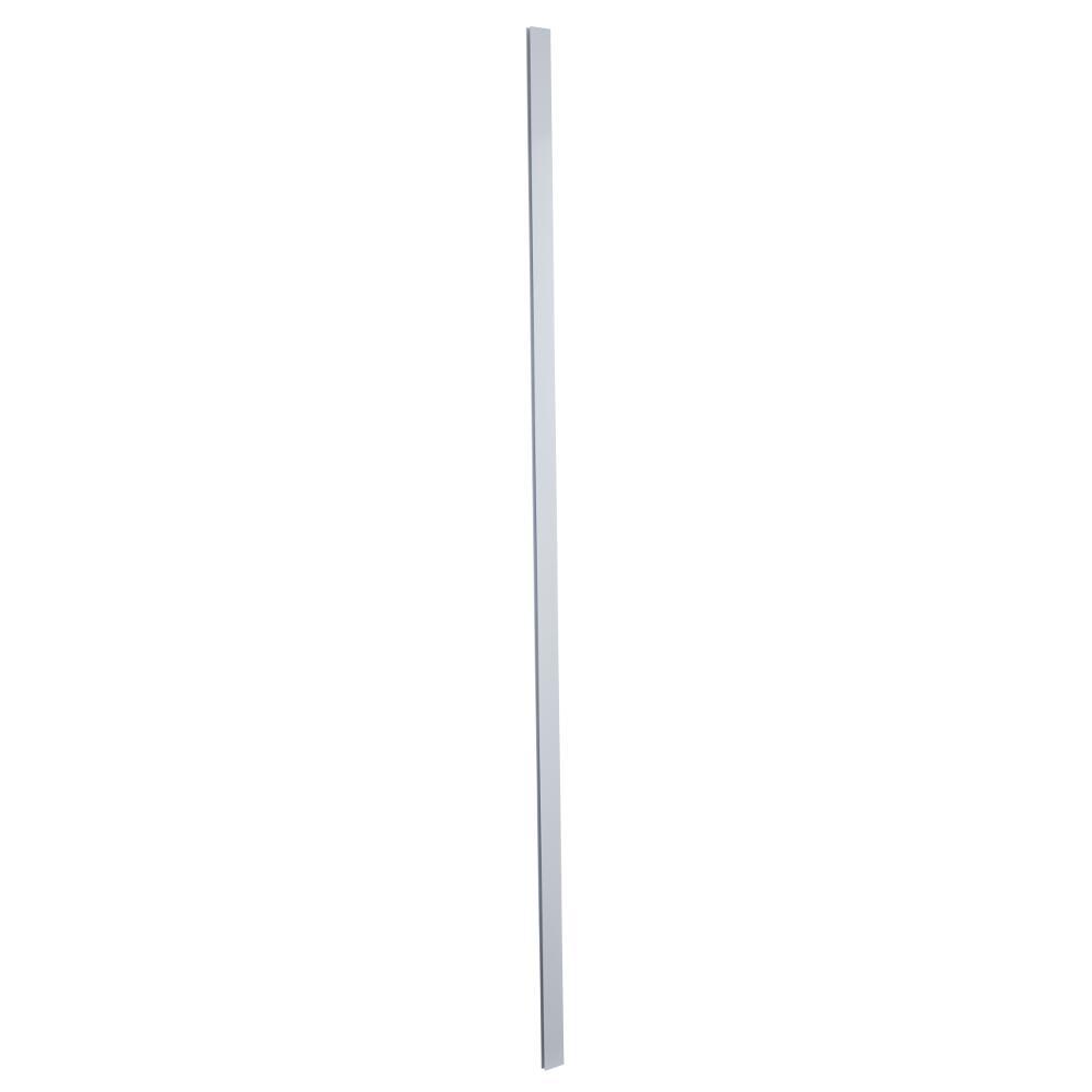 Profilé alu paroi de douche Lux Blanc