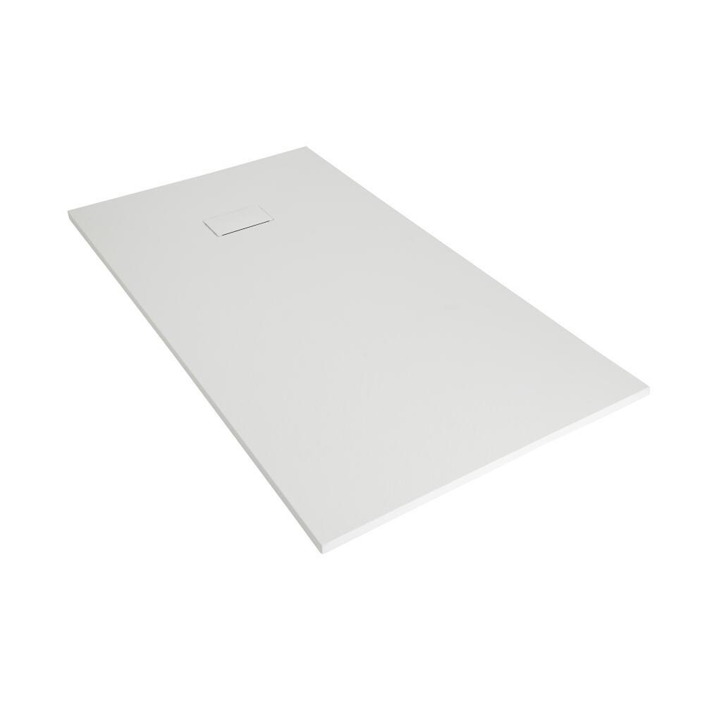 Receveur de douche blanc rectangulaire 170x80cm