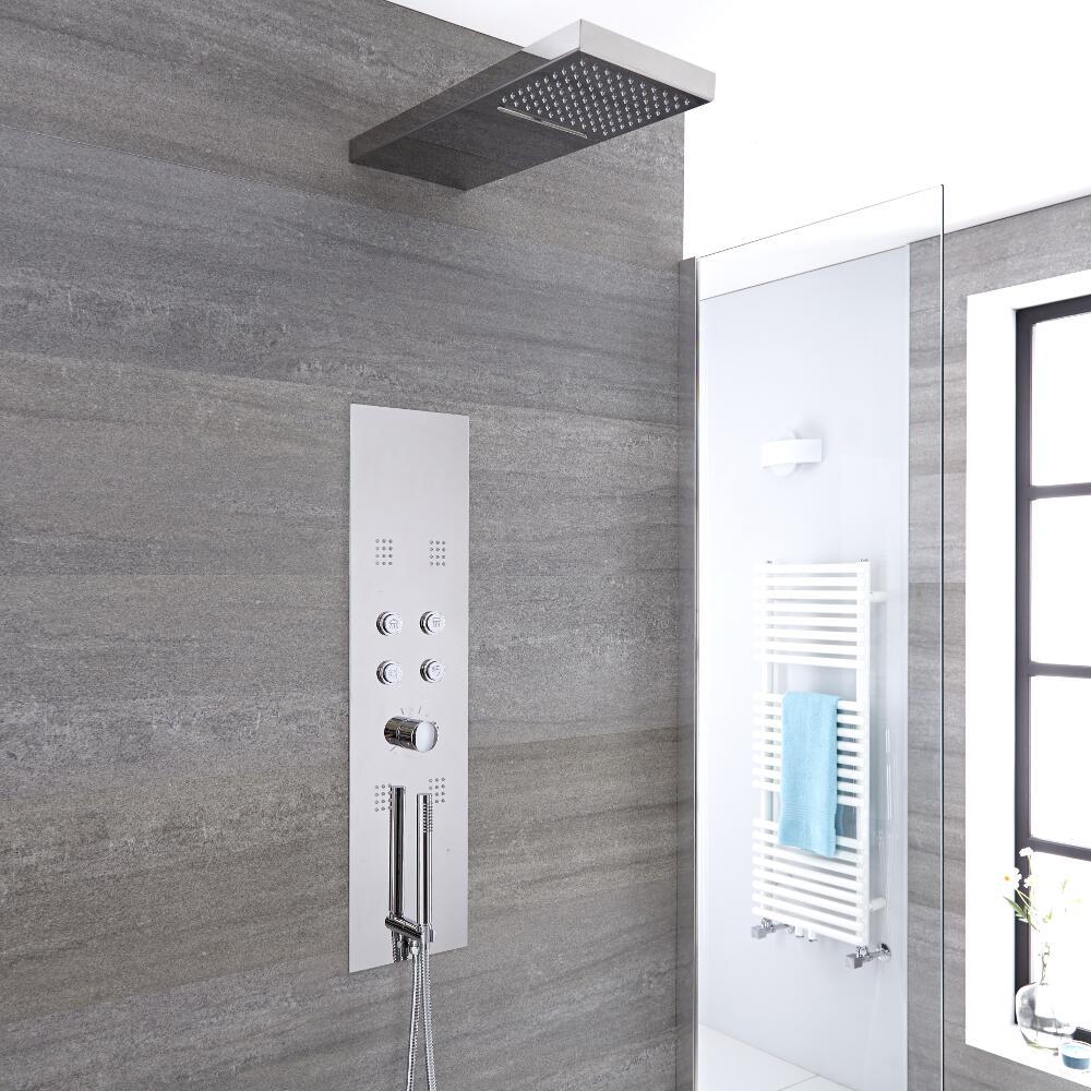 Colonne de douche thermostatique encastrée Dakota