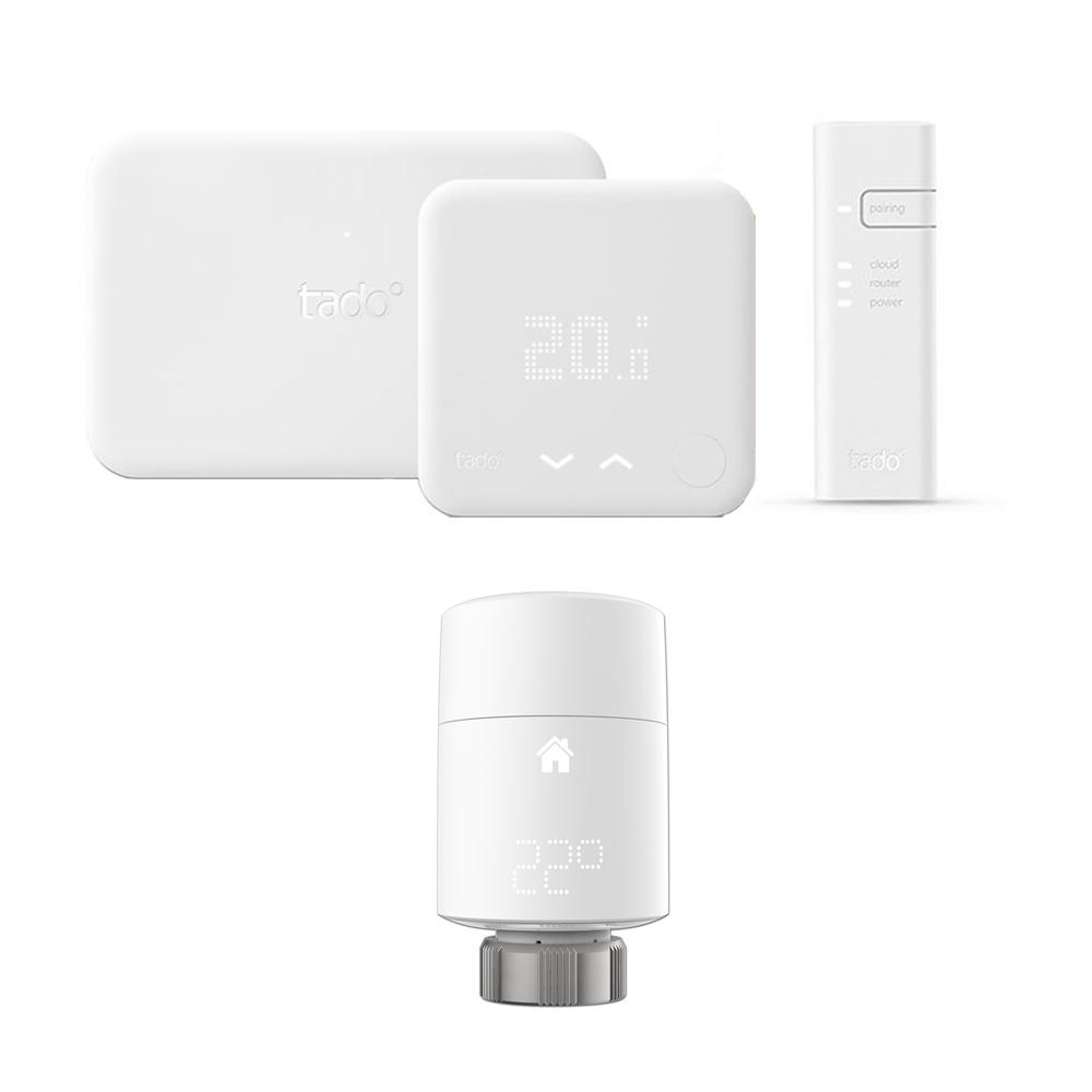 Thermostat Intelligent (v3) Kit d'Extension & Tête Thermostatique Intelligente verticale Tado°