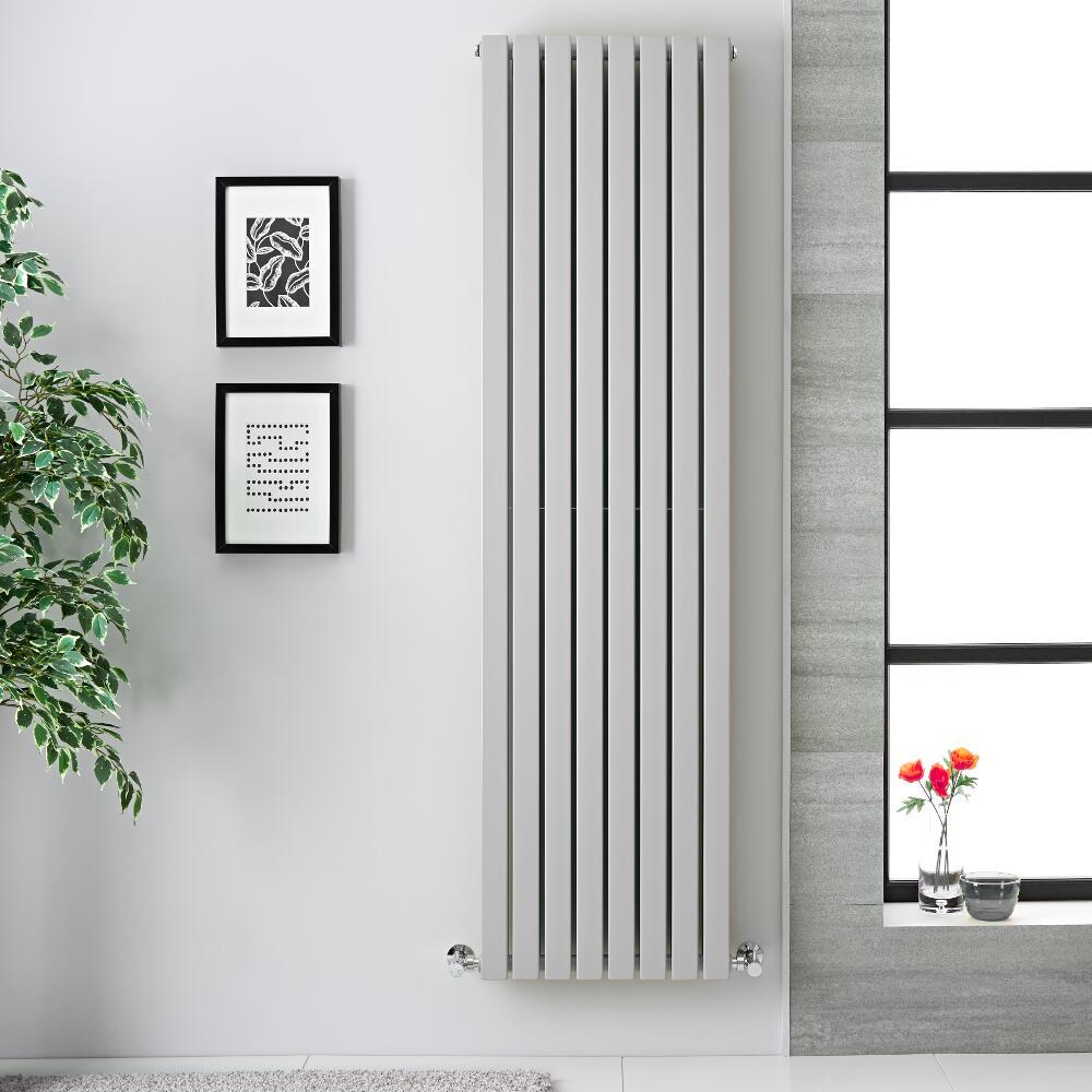 Radiateur vertical Sloane Gris souris 178 x 47.2cm 1931 watts