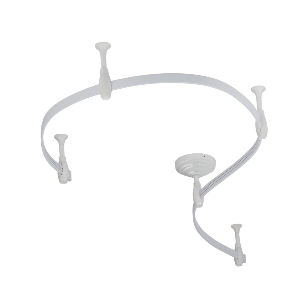 Biard Rail flexible pour Spot LED 2m Blanc