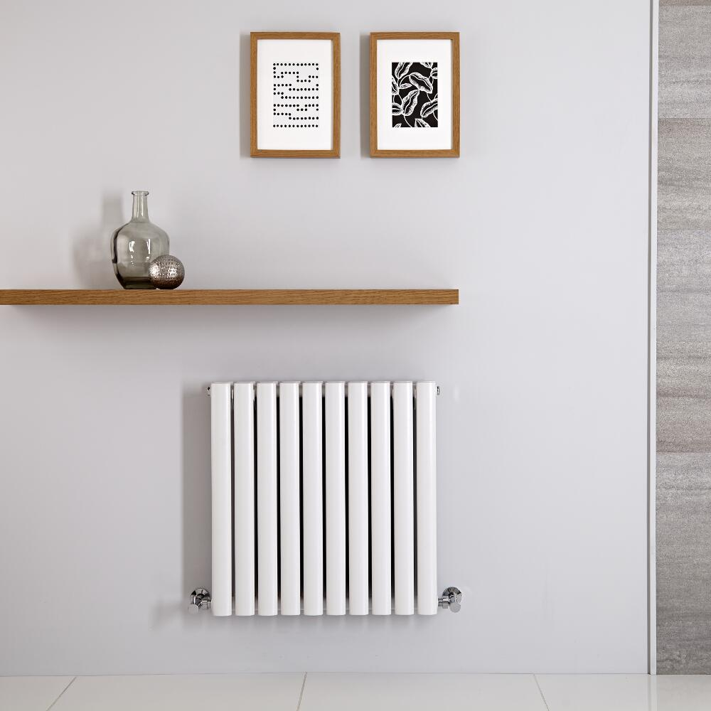 Radiateur Horizontal Vitality Blanc 60cm x 59.5cm x 7.8cm 783 watts