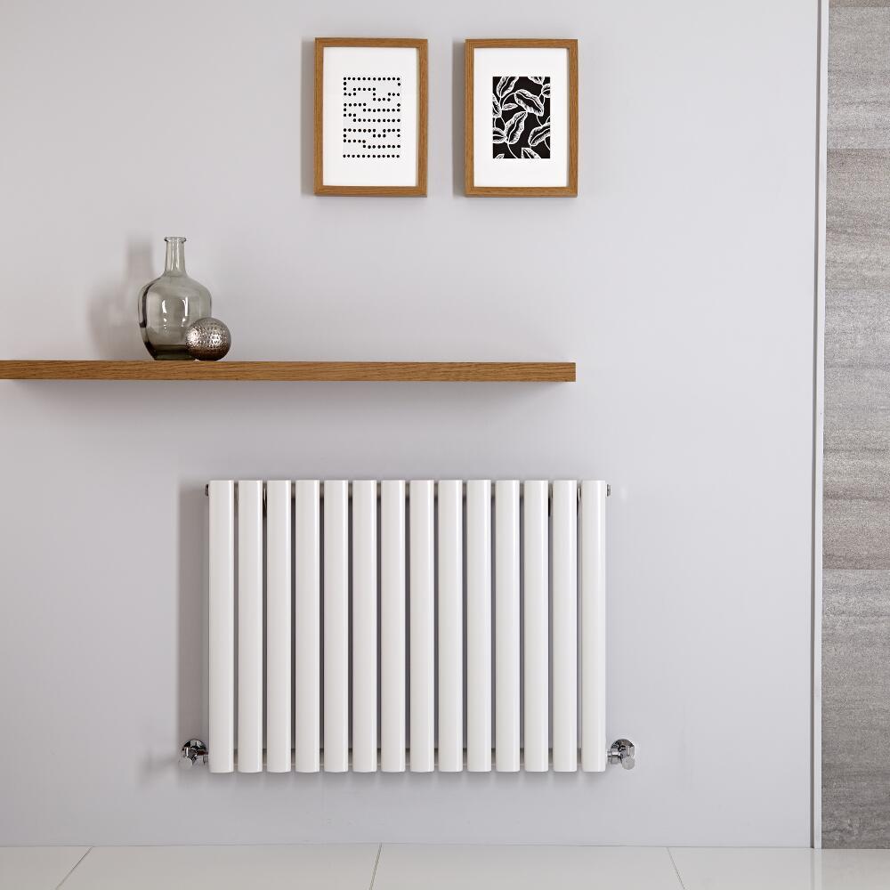 Radiateur Horizontal Vitality Blanc 60cm x 83.4cm x 5.6cm 781watts