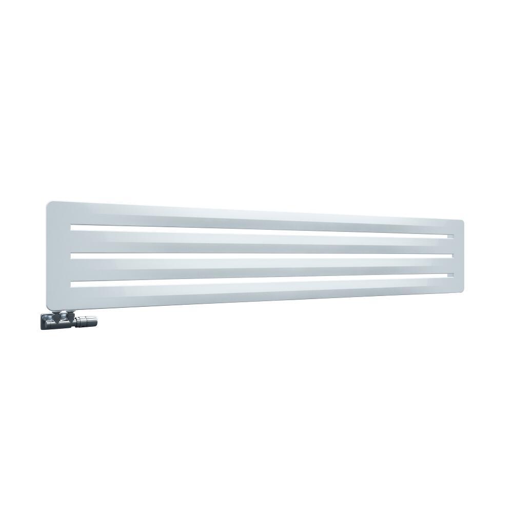 Leba - Radiateur Horizontal Design Blanc Leba 32.5cm x 180cm