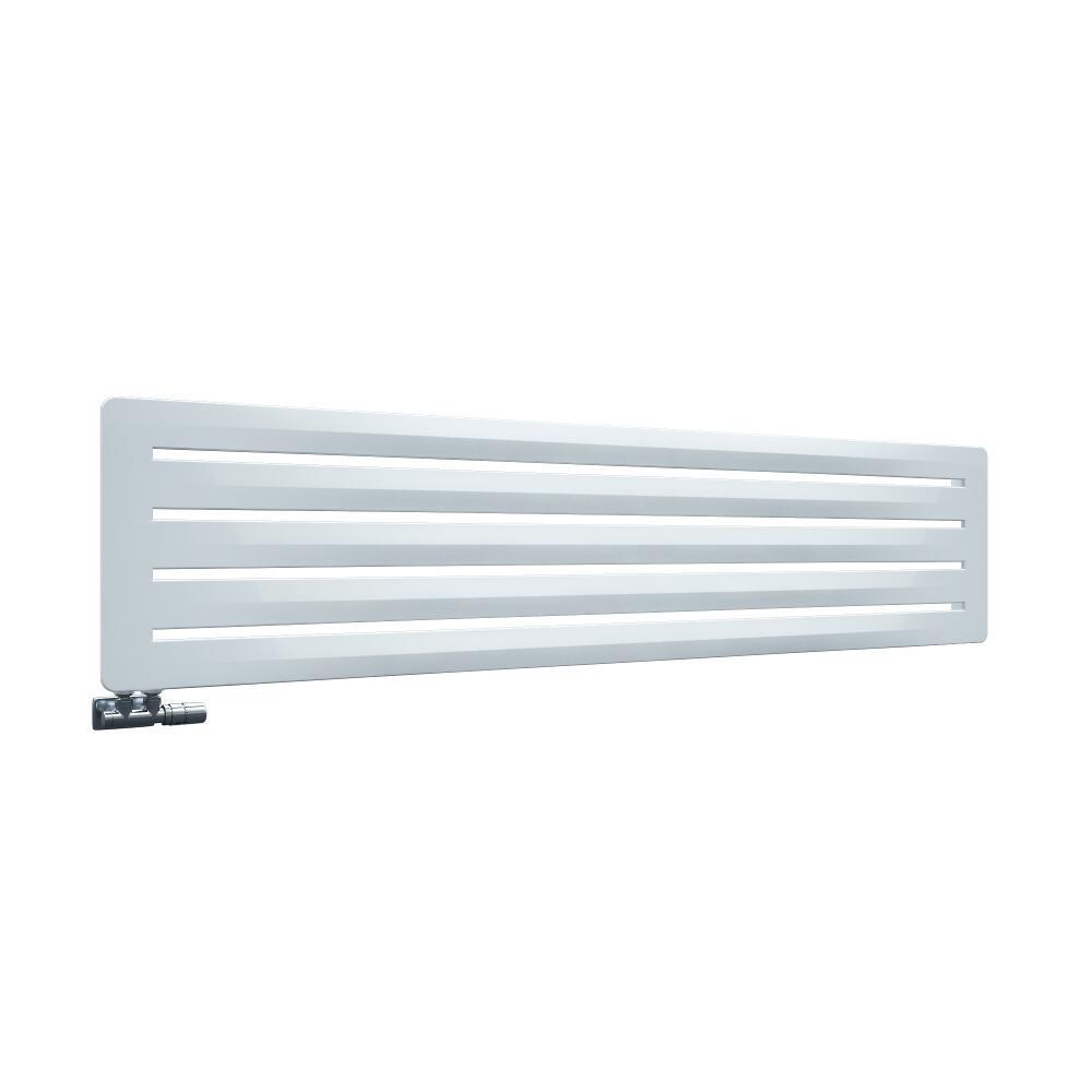 Leba - Radiateur Horizontal Design Blanc Leba 41cm x 180cm