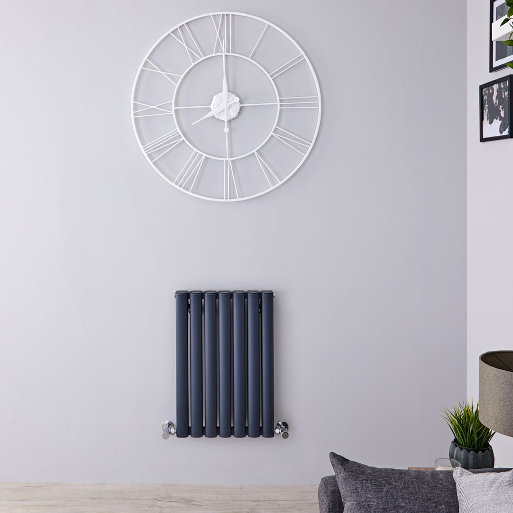 Radiateur Aluminium Design Anthracite 60 x 41cm 804 watts Vitality Air